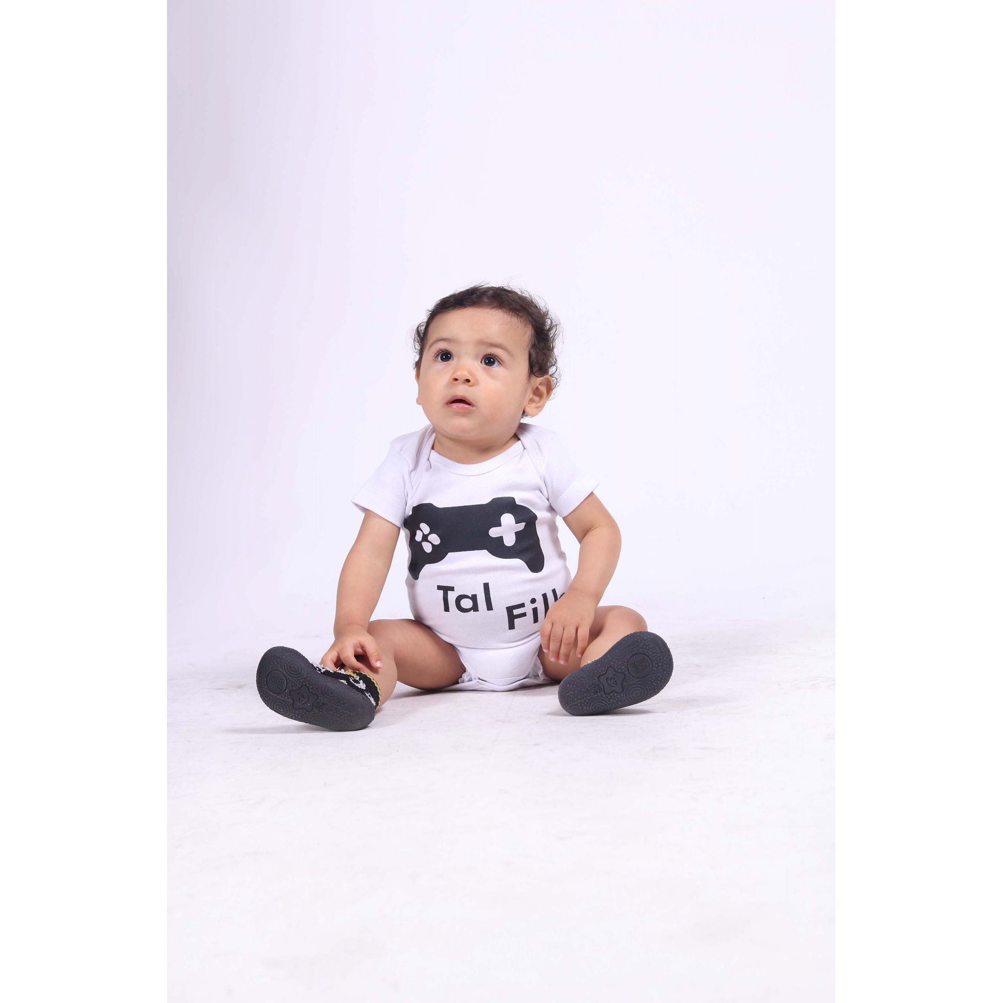 Camiseta Infantil Game ou Body de Bebê  - Heitor Fashion Brazil