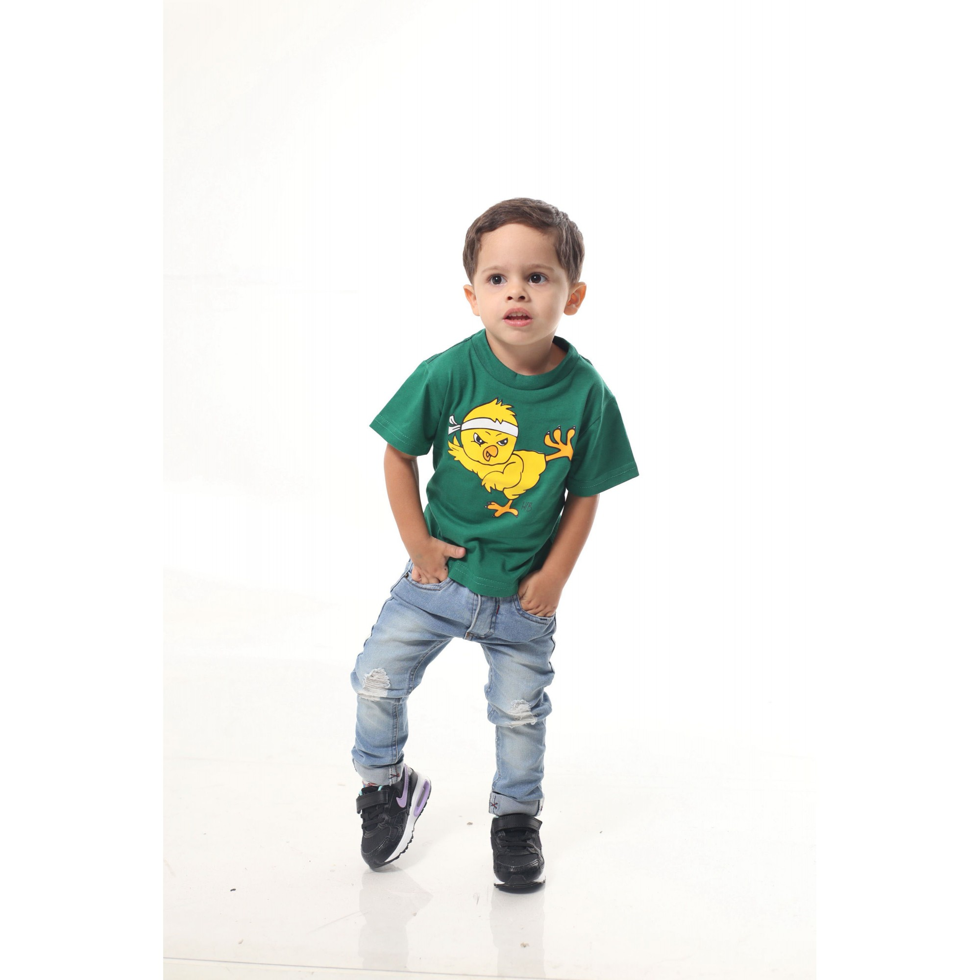 Camiseta Infantil Pintinho