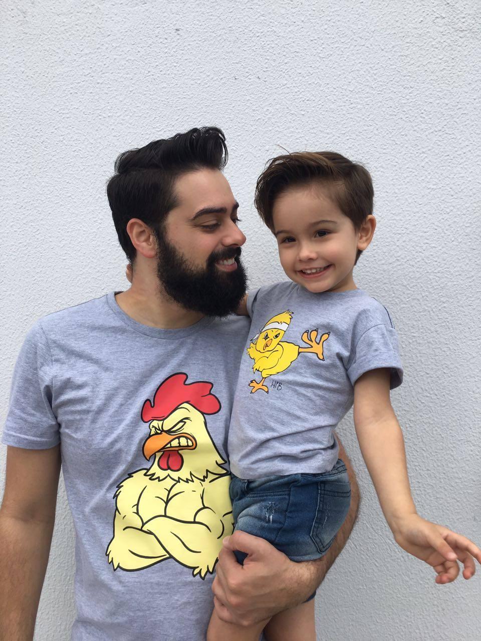 Camiseta Infantil Pintinho  - Heitor Fashion Brazil