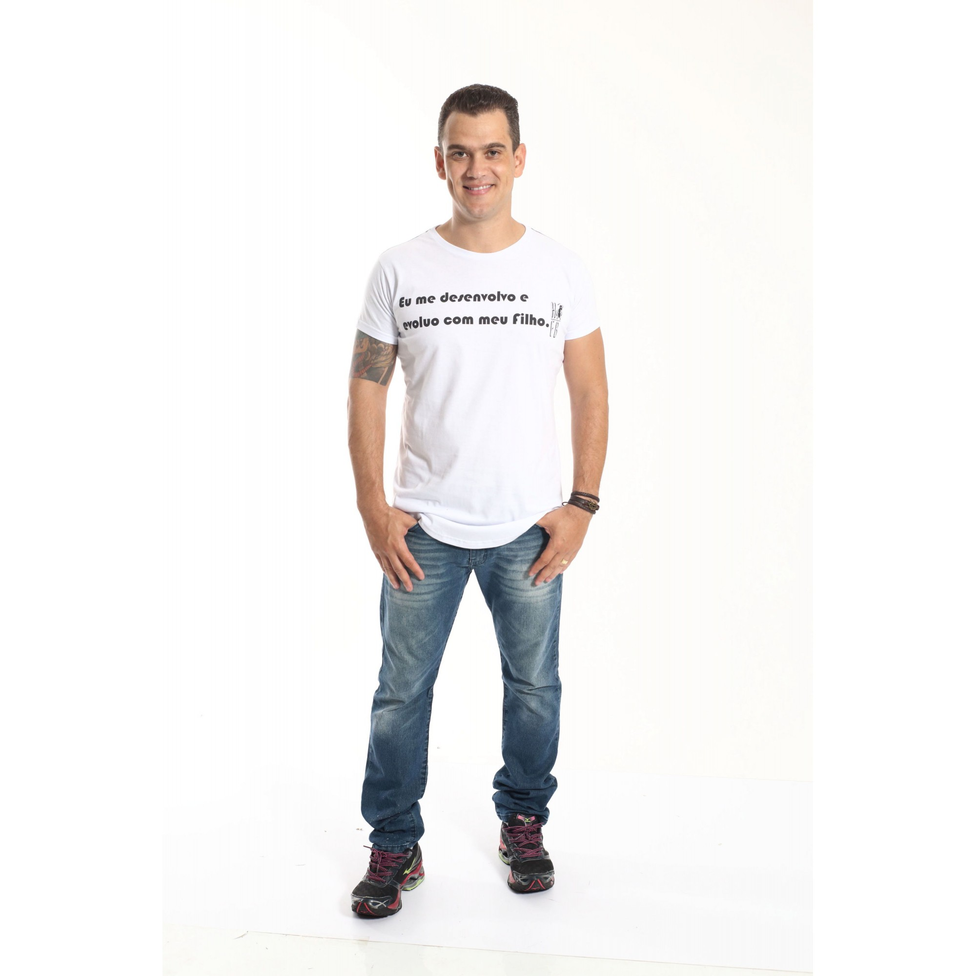 Camiseta Long Desenvolvo   - Heitor Fashion Brazil