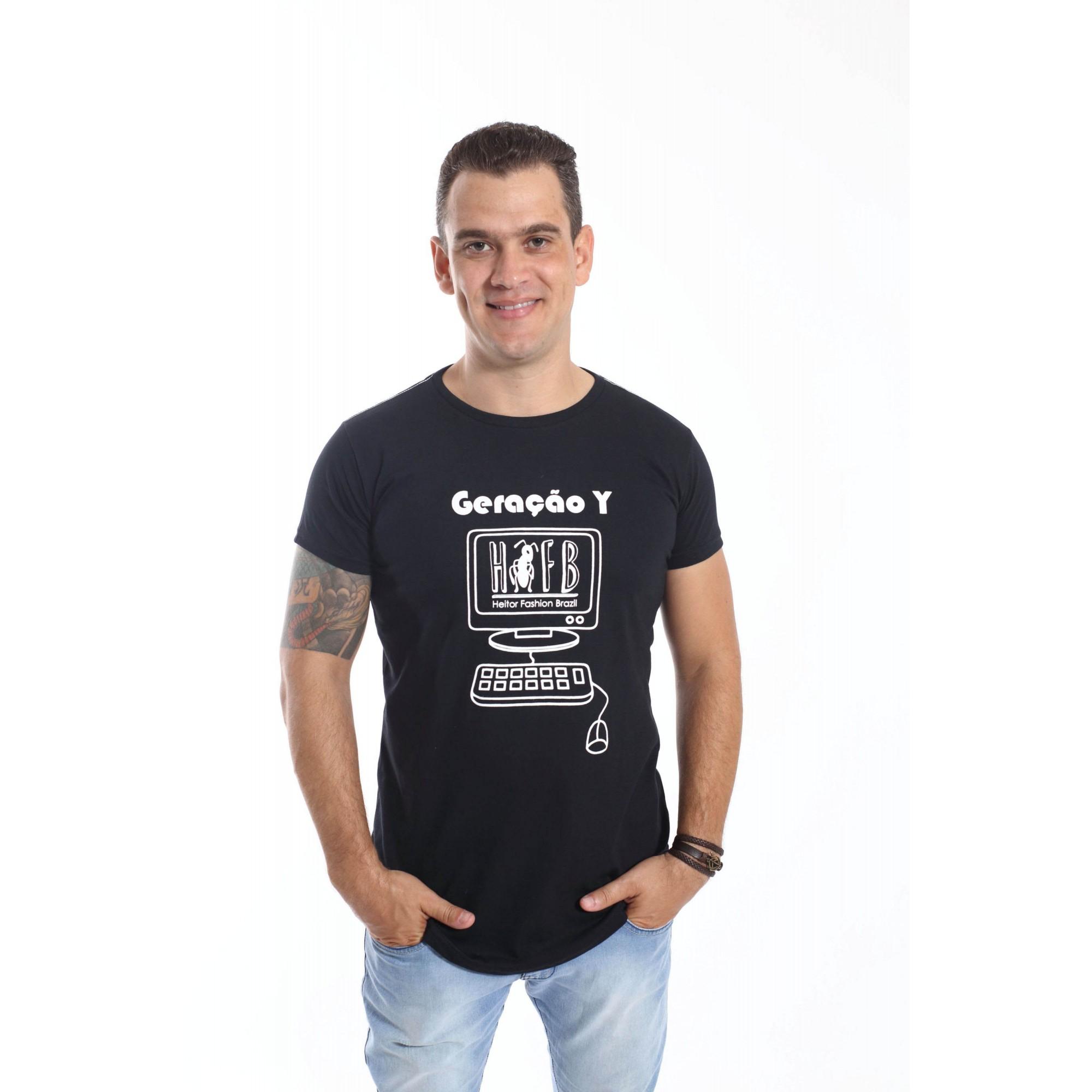 Camiseta Long Gerações