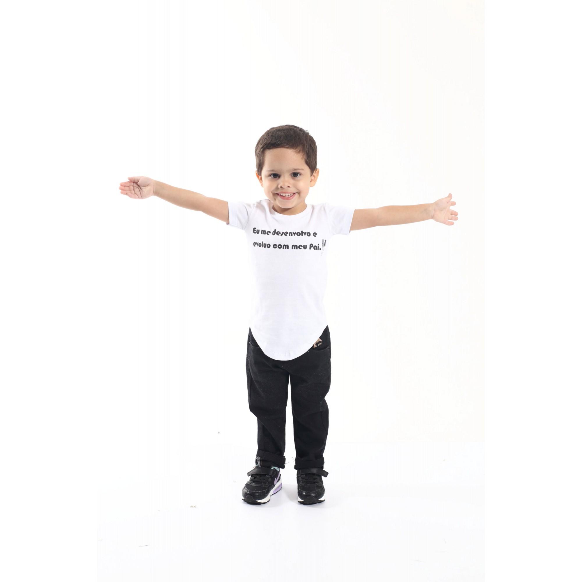 Camiseta Long Infantil Desenvolvo