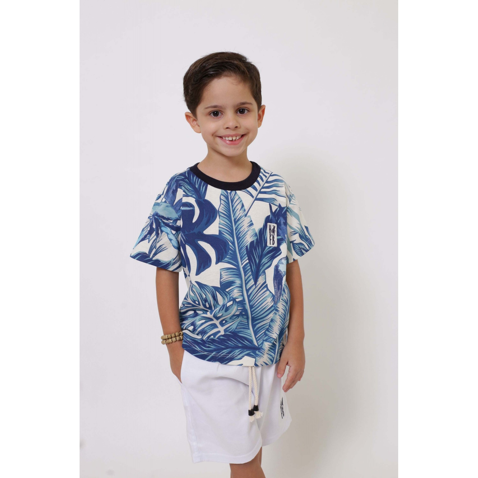 Camiseta ou Body Infantil Unissex - Caribe  - Heitor Fashion Brazil