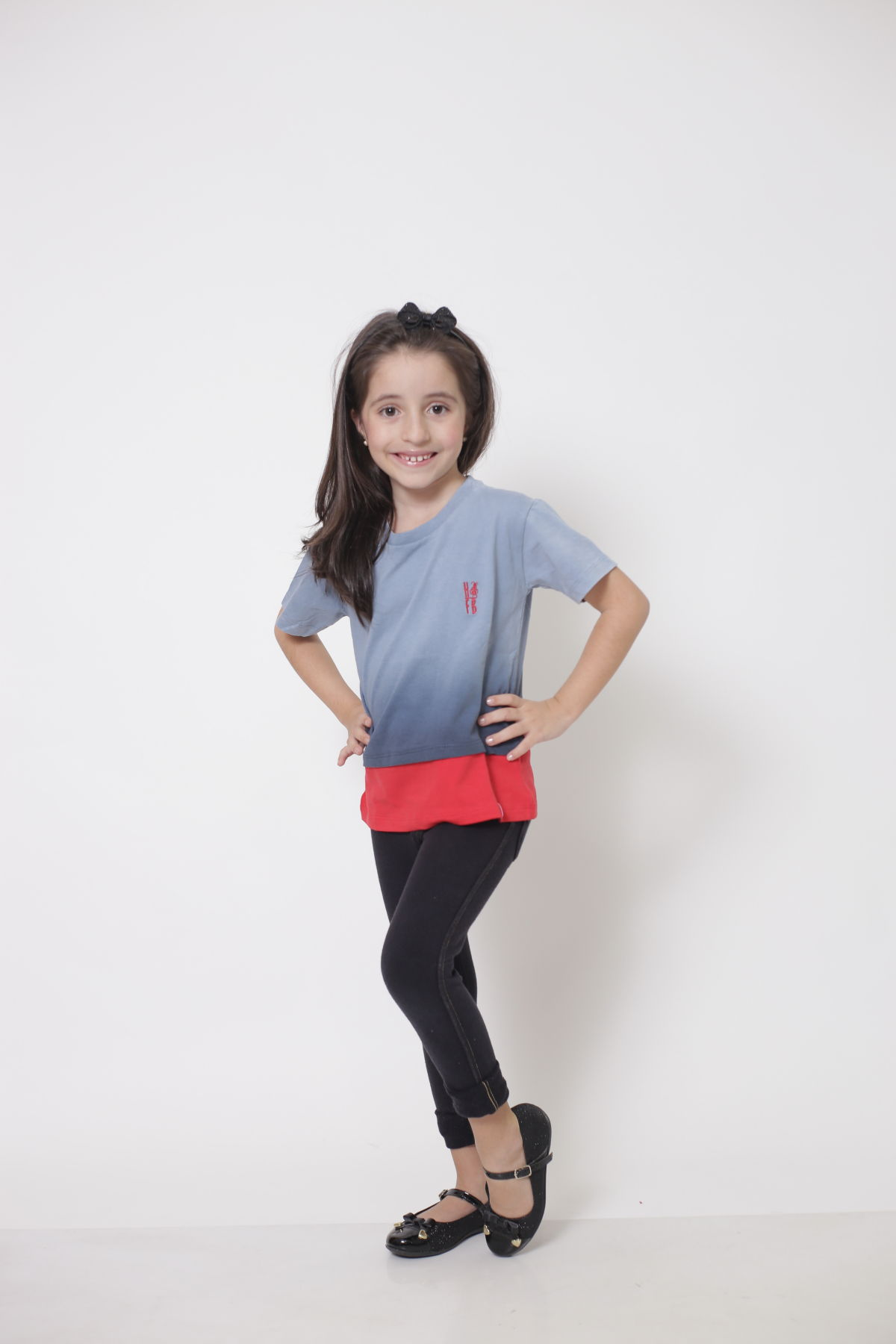 Camiseta ou Body Infantil Unissex - Degradê