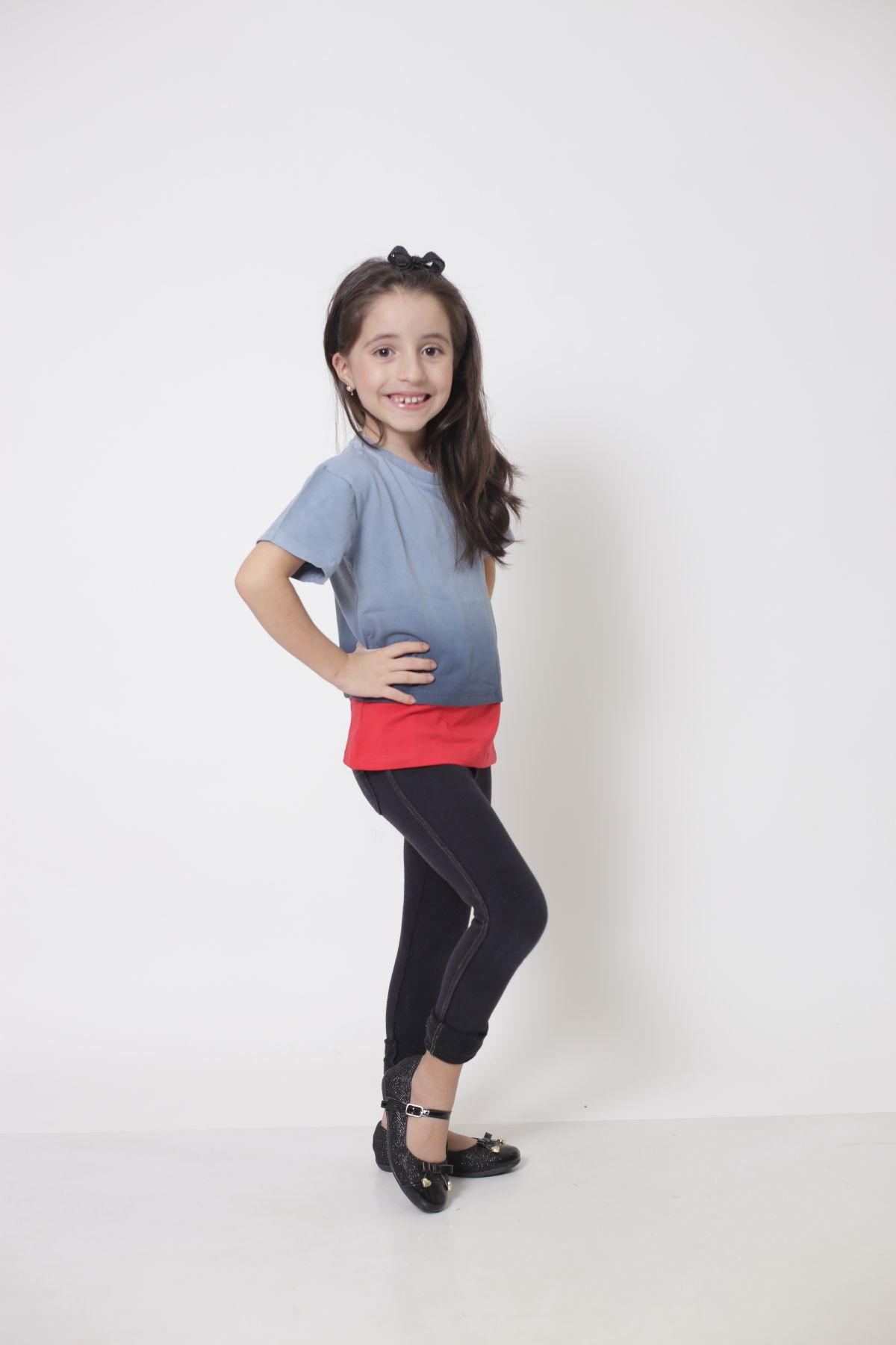Camiseta ou Body Infantil Unissex - Degradê  - Heitor Fashion Brazil