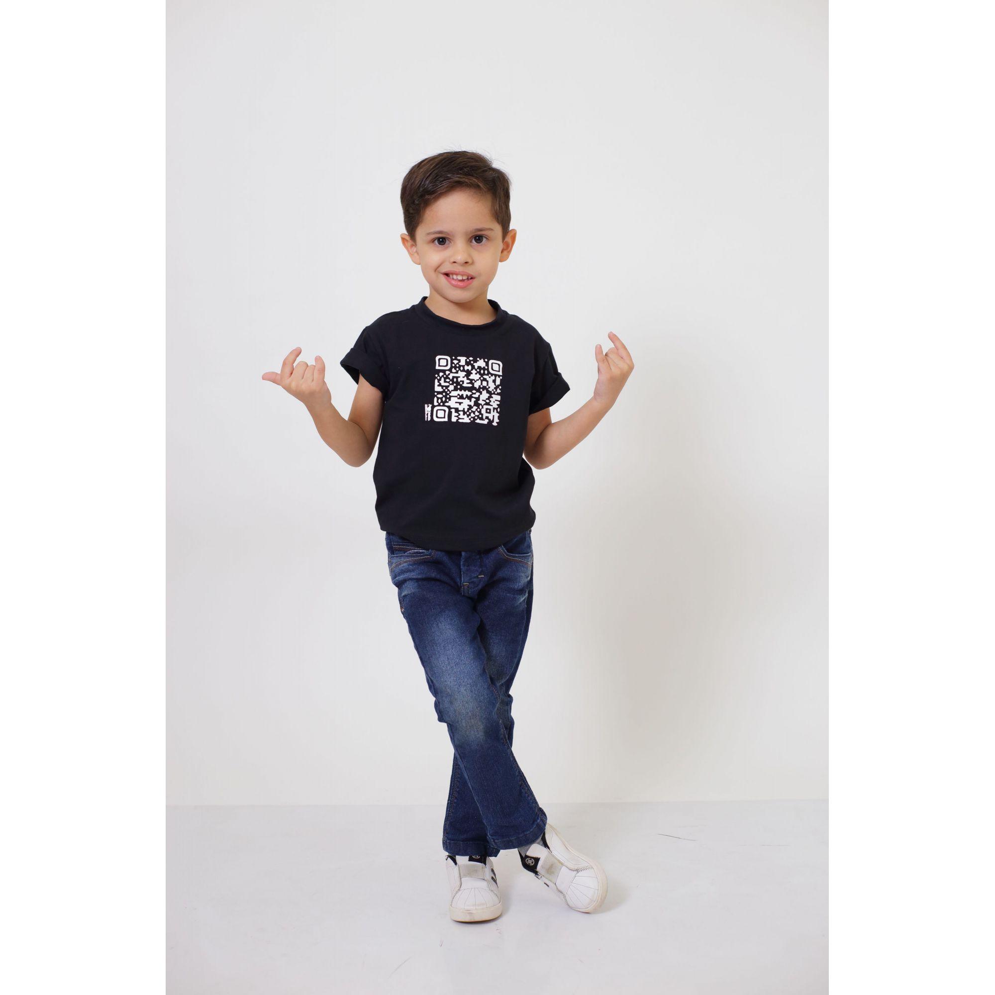Camiseta ou Body Infantil Unissex - QRCODE