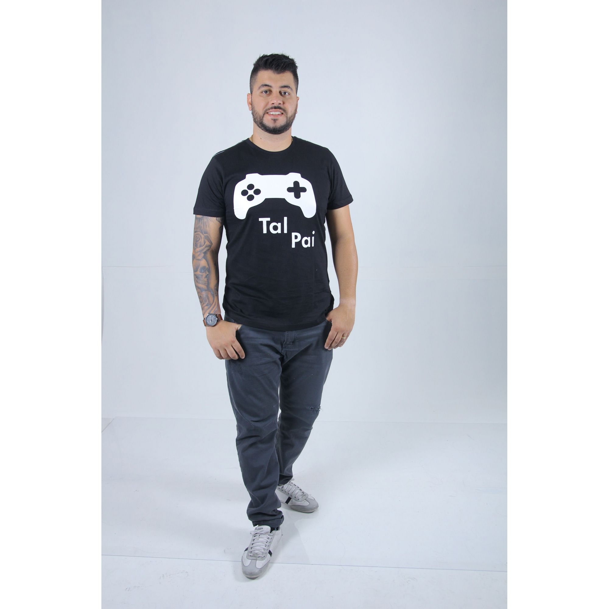 Camiseta Tal Pai Game  - Heitor Fashion Brazil
