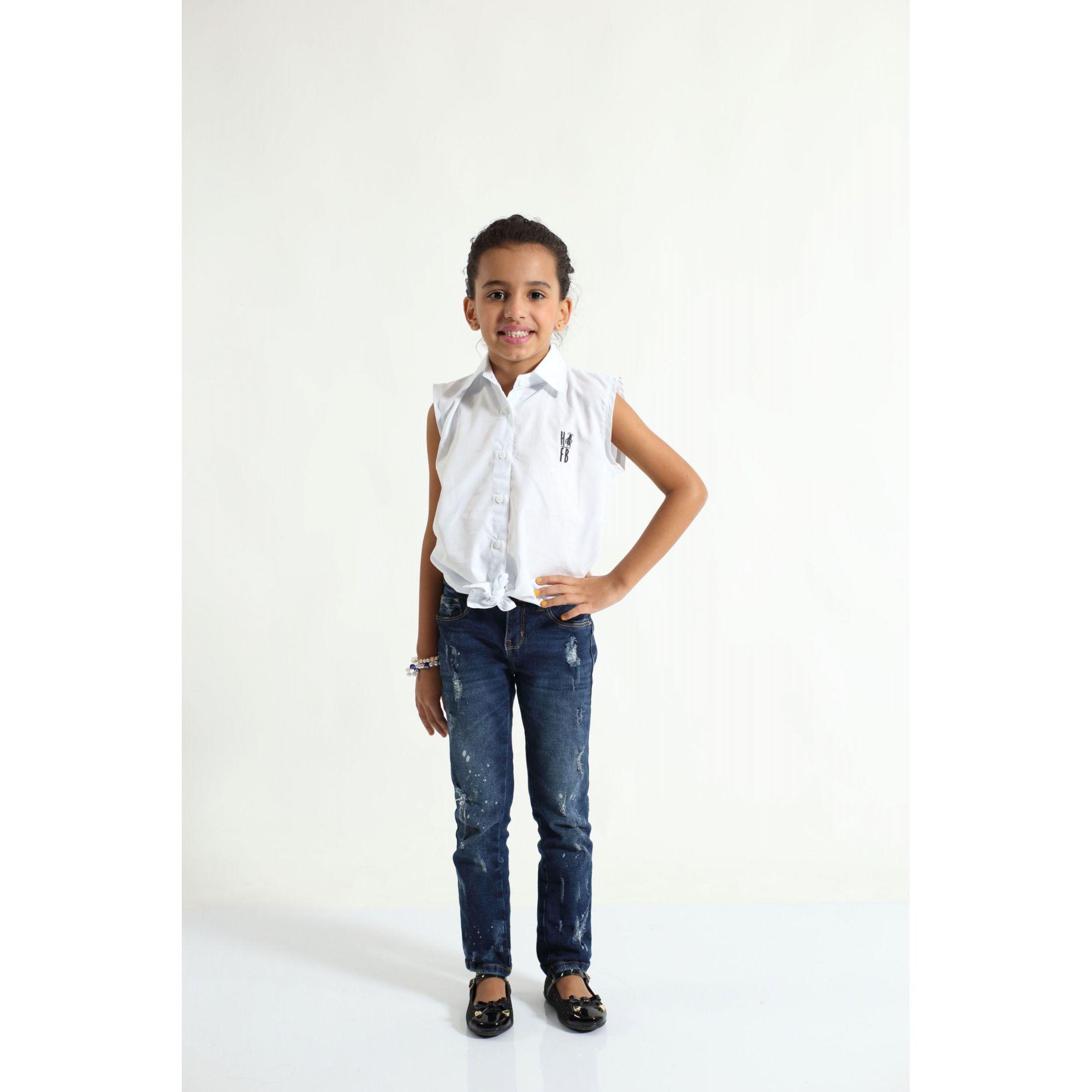 MÃE E FILHA > Kit 02 Camisas Social Adulto e Infantil Branca [Coleção Tal Mãe Tal Filha]  - Heitor Fashion Brazil