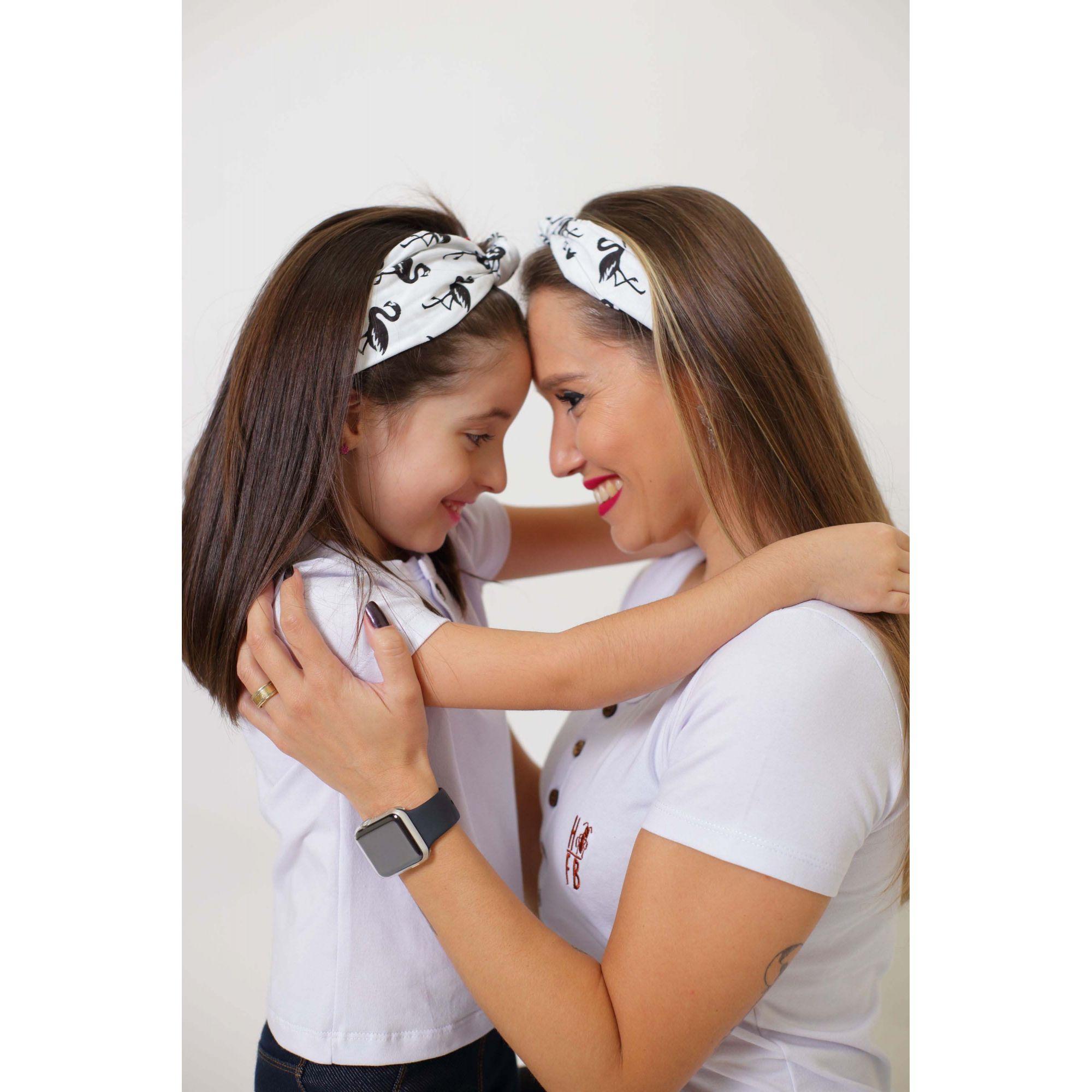 Mãe e Filha > Kit 02 Faixas de Cabelo Tipo Turbante [Coleção Tal Mãe Tal Filha]  - Heitor Fashion Brazil