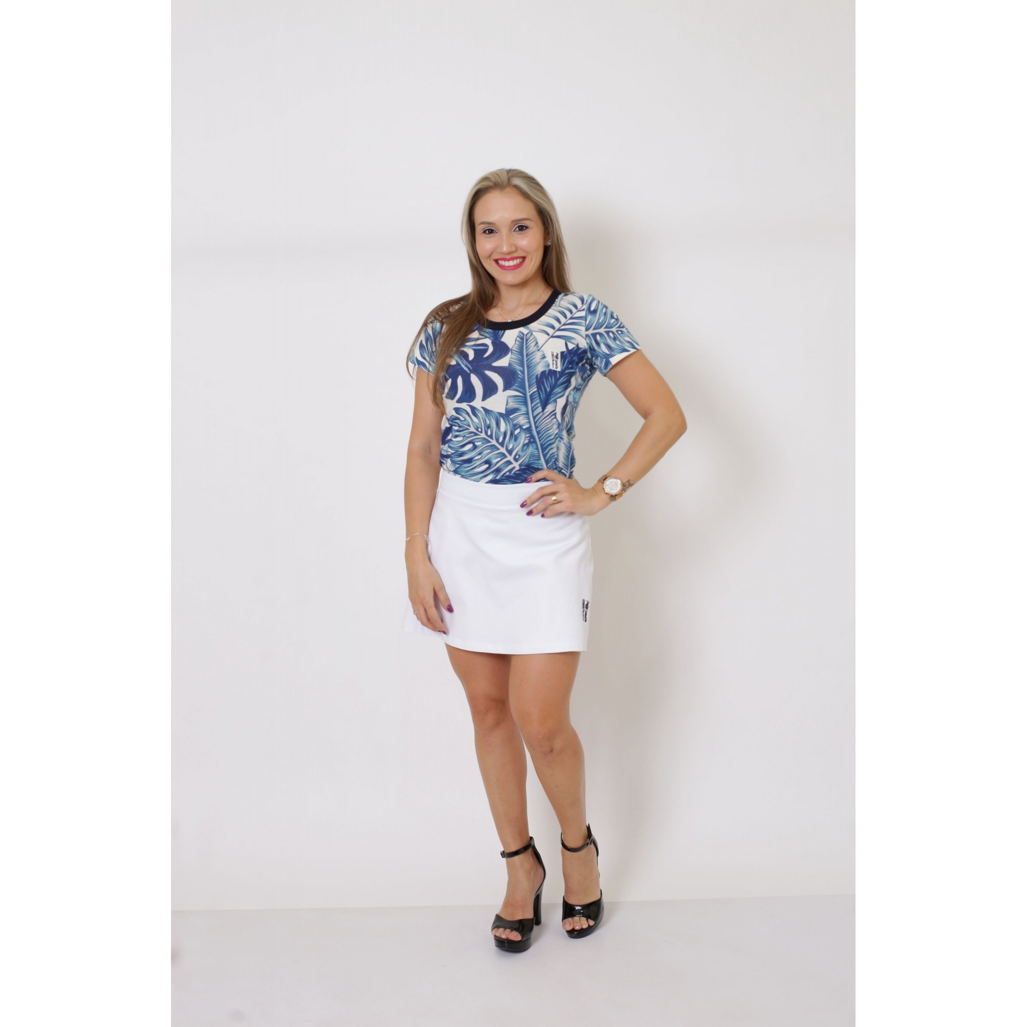 MÃE E FILHA > Kit 02 Peças T-Shirts - Caribe [Coleção Tal Mãe Tal Filha]  - Heitor Fashion Brazil