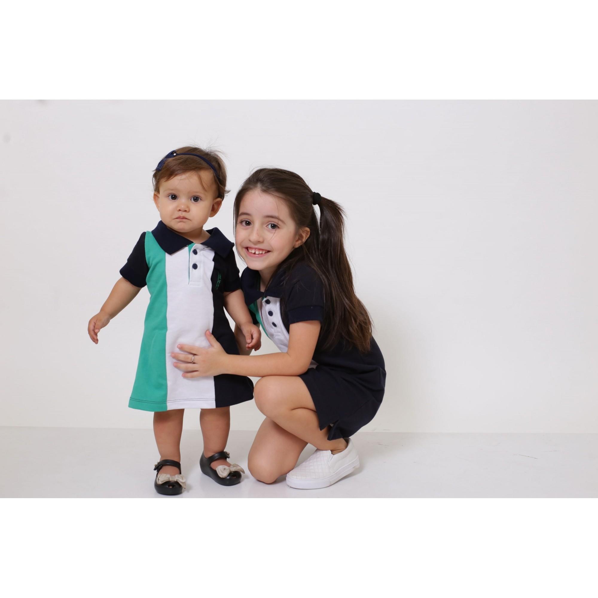 MÃE E FILHA > Kit 02 Vestidos Adulto e Infantil - Listrados Prince [Coleção Tal Mãe Tal Filha]  - Heitor Fashion Brazil