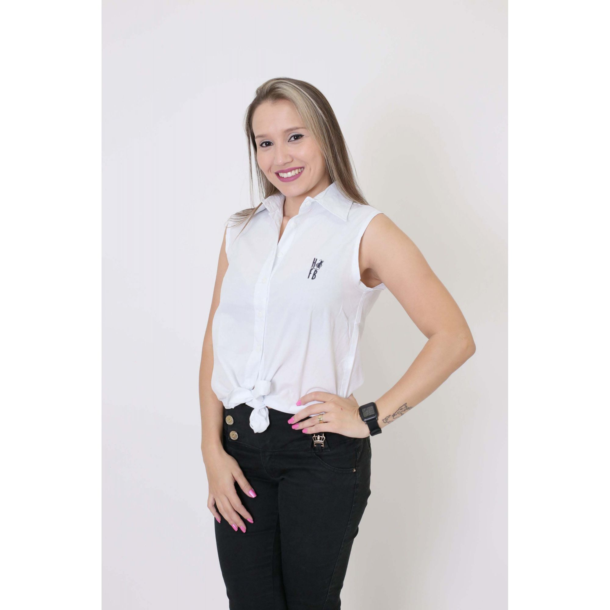 MÃE E FILHO > Camisa Feminina + Bermuda Infantil Branca [Coleção Tal Mãe Tal Filho]  - Heitor Fashion Brazil