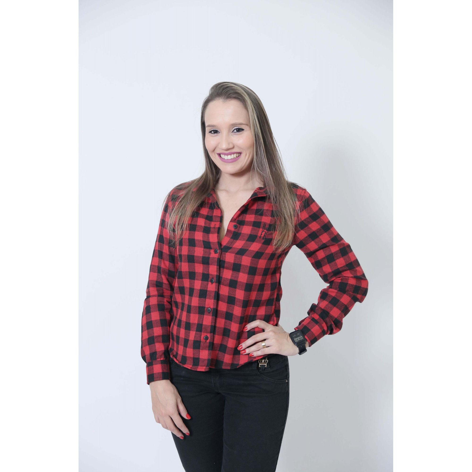 MÃE E FILHO > Kit 02 Camisas Social Xadrez Lenhador [Coleção Tal Mãe Tal Filho]  - Heitor Fashion Brazil