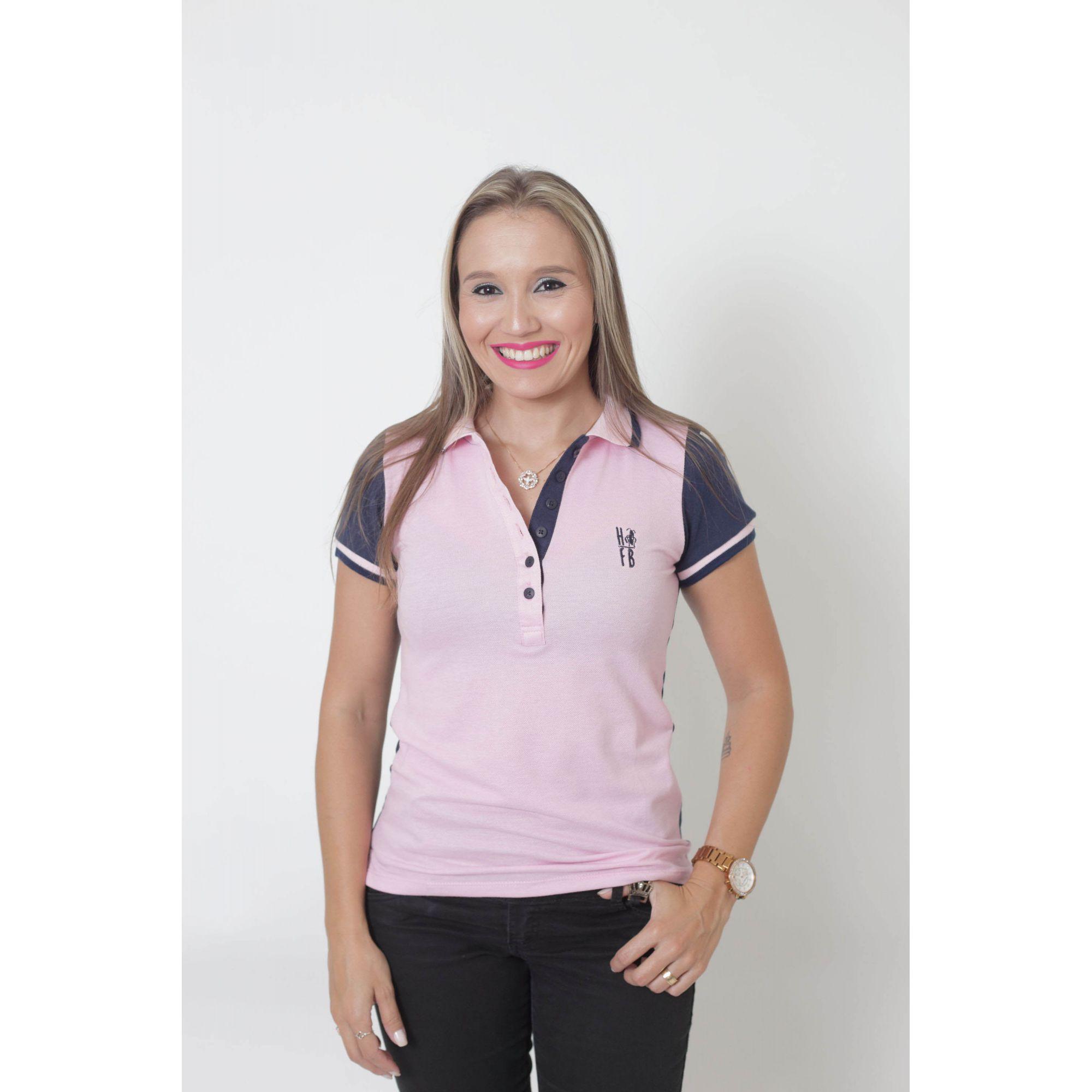 MÃE E FILHO > Kit 02 Peças - Camisa + Body Unissex Polo - Dual Cor Rosa e Marinho [Coleção Tal Mãe Tal Filho]  - Heitor Fashion Brazil
