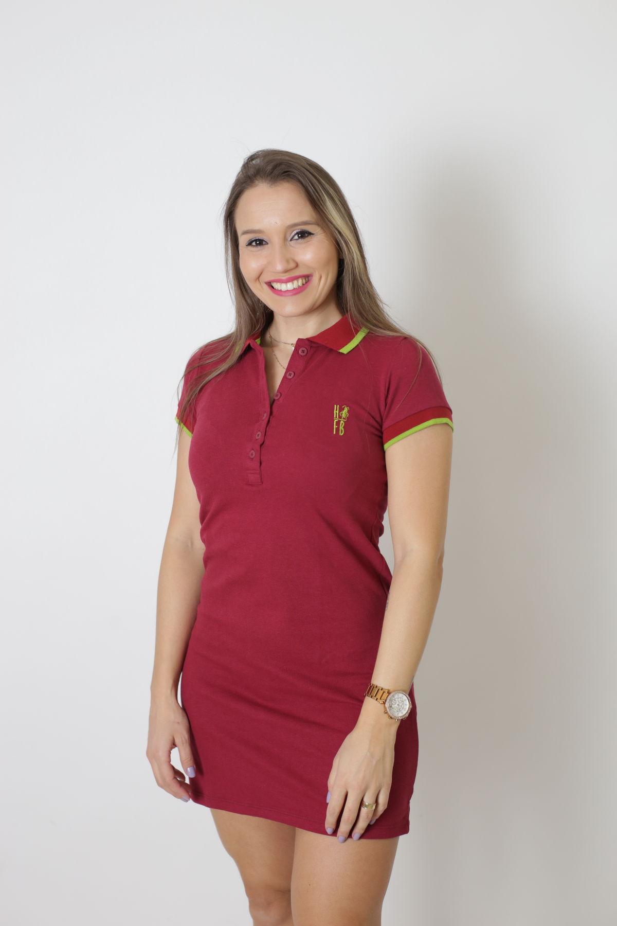 MÃE E FILHO > Kit 02 peças Vestido + Body Unissex Polo - Bordo [Coleção Tal Mãe Tal Filho]  - Heitor Fashion Brazil