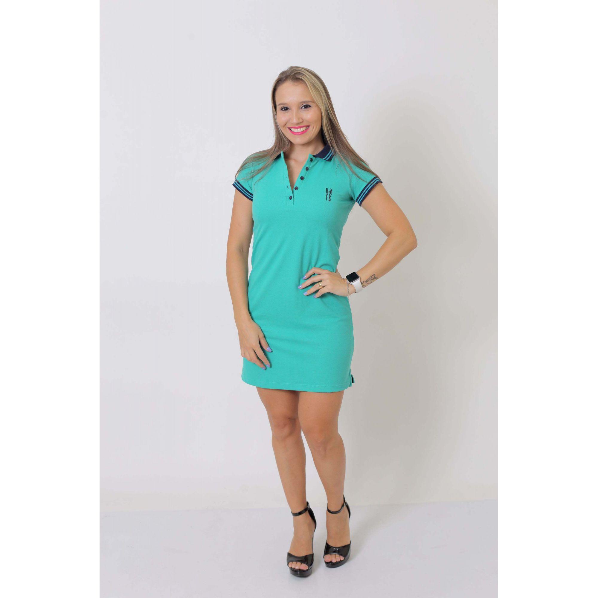 MÃE E FILHO > Kit 02 peças Vestido e Camisa ou Body Polo Verde Jade [Coleção Tal Mãe Tal Filho]  - Heitor Fashion Brazil