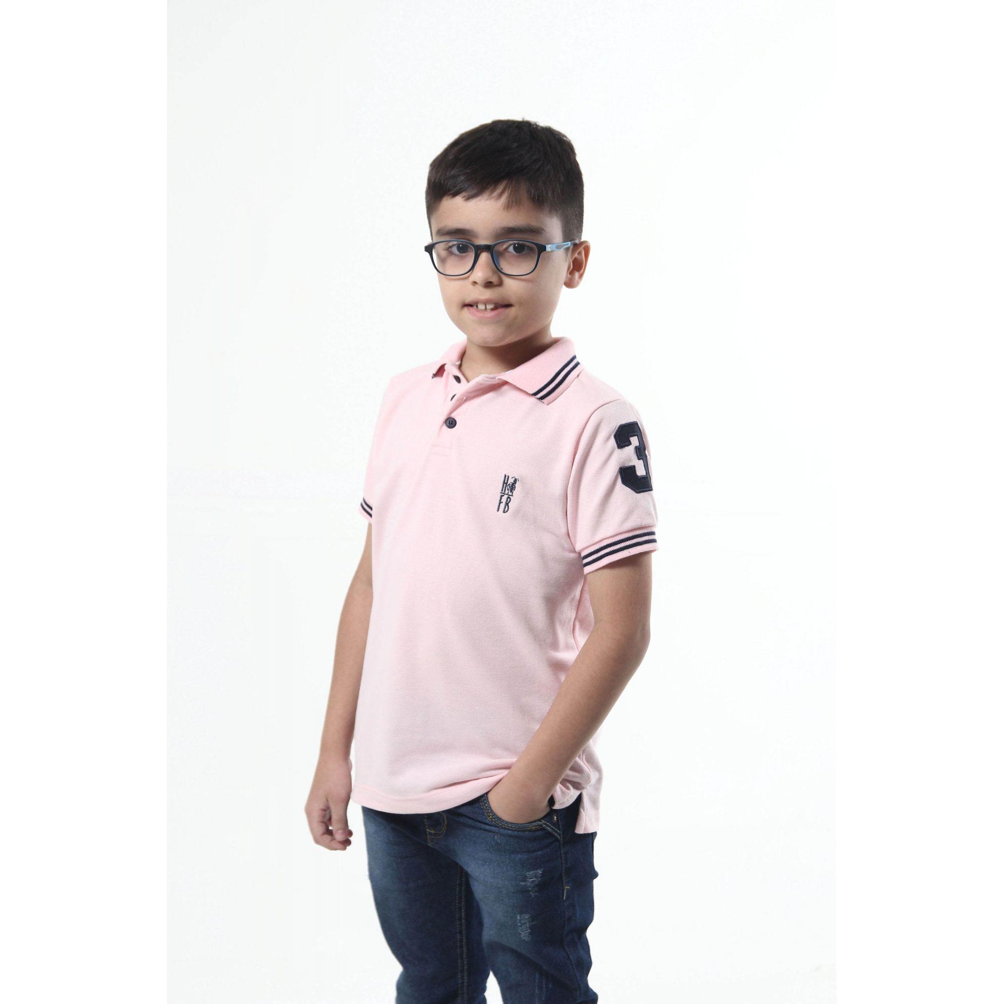 MÃE E FILHO > Kit 02 peças Vestido e Camisa Polo Infantil Rosa Amor [Coleção Tal Mãe Tal Filho]  - Heitor Fashion Brazil