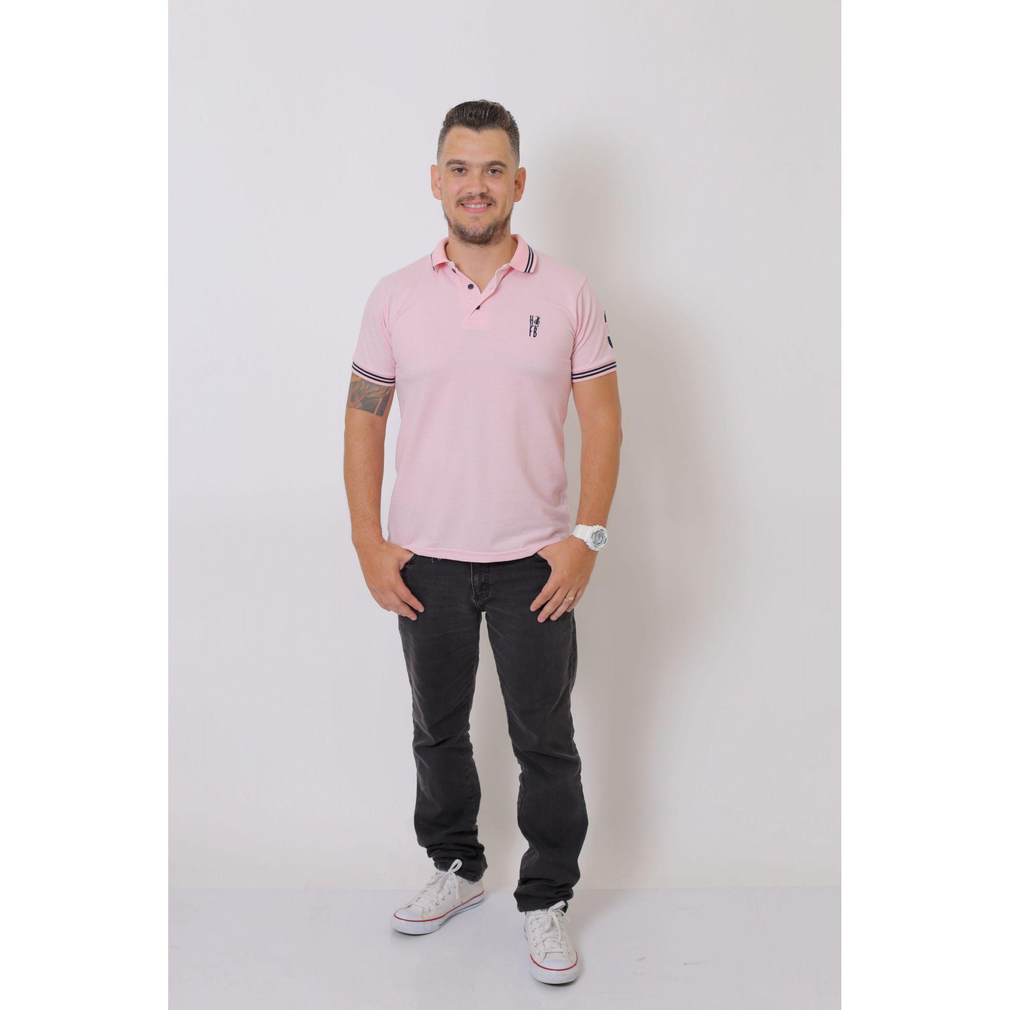 NAMORADOS > Kit 02 Peças Camisa + Vestido Polo Rosa Amor [Coleção Namorados]  - Heitor Fashion Brazil