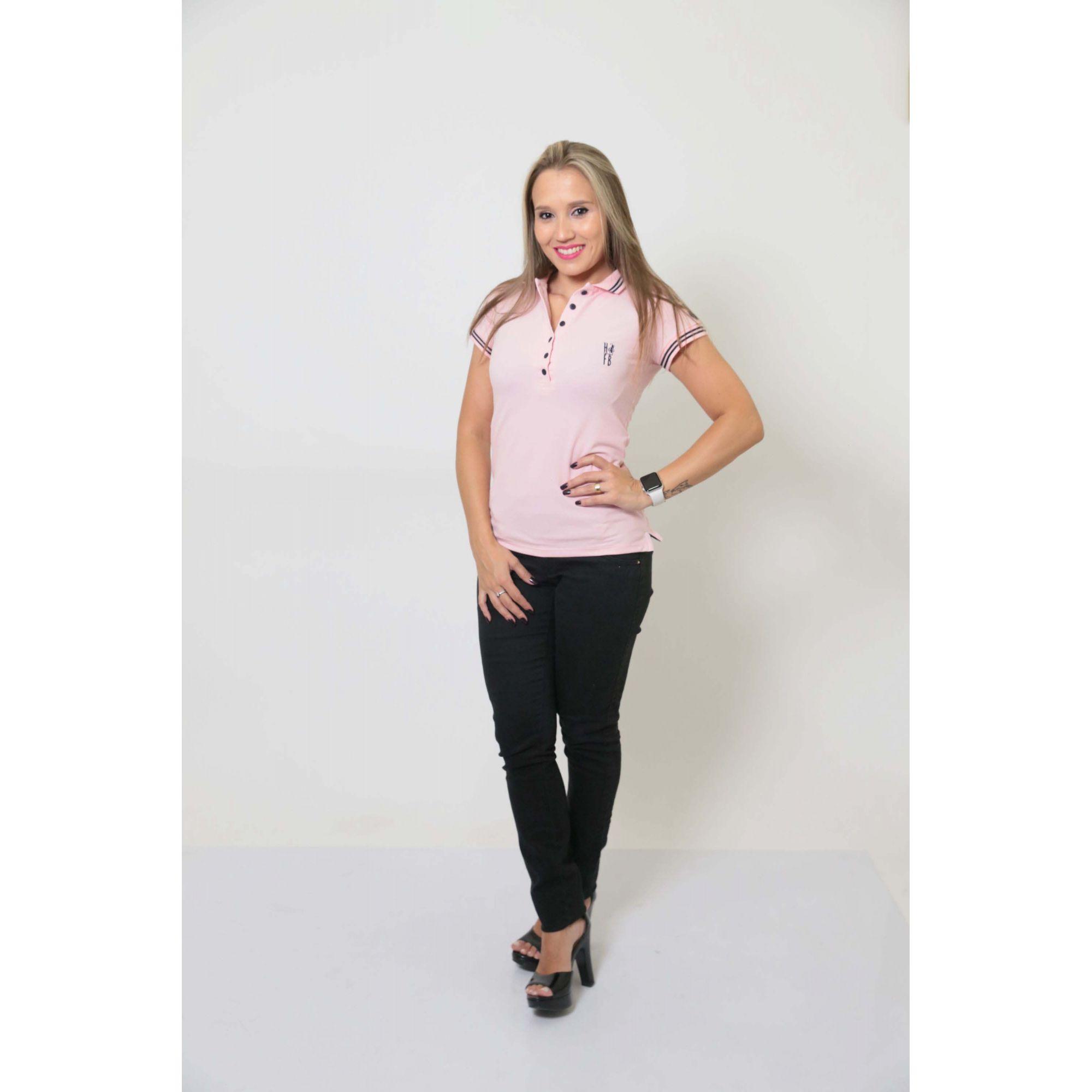 NAMORADOS > Kit 02 Peças Camisas Polo Masculina + Feminina Rosa Amor [Coleção Namorados]  - Heitor Fashion Brazil
