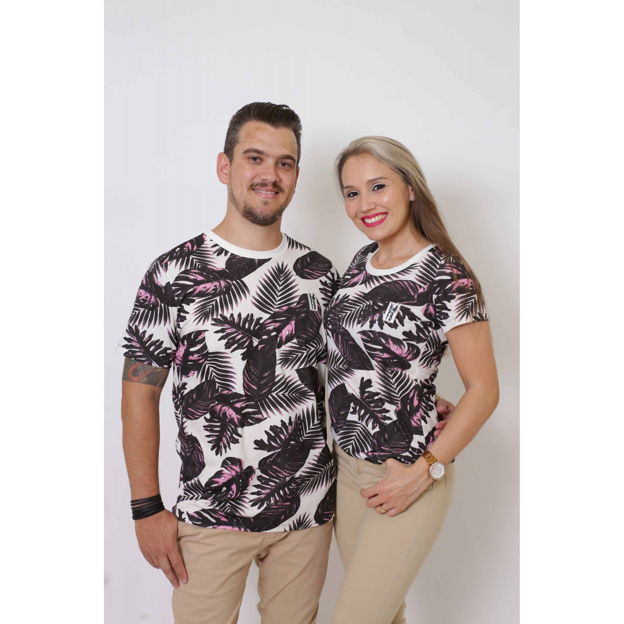NAMORADOS > Kit 02 Peças T-Shirts Cancún [Coleção Namorados]