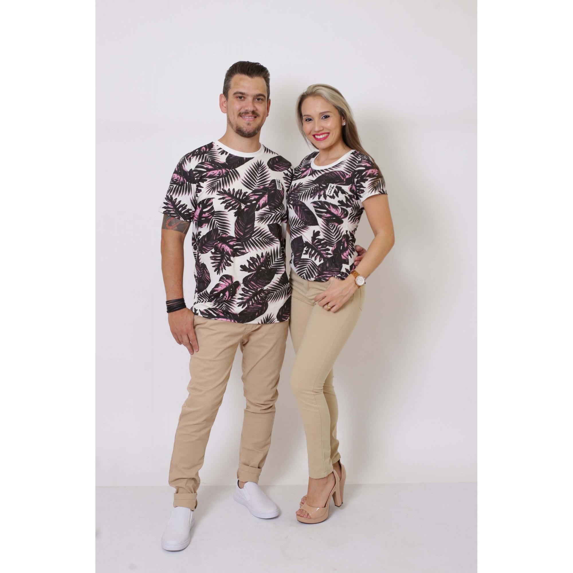 NAMORADOS > Kit 02 Peças T-Shirts Cancún [Coleção Namorados]  - Heitor Fashion Brazil