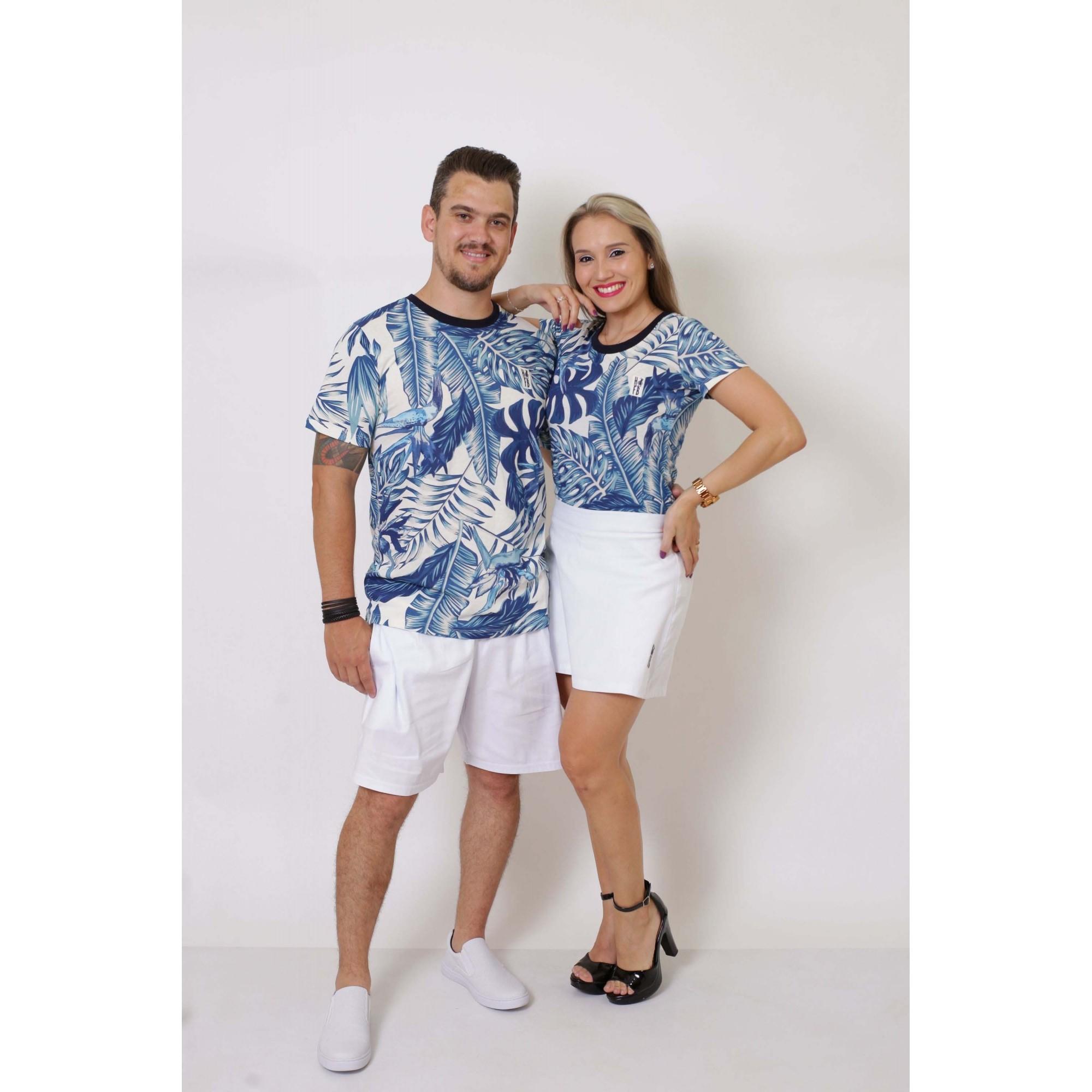 NAMORADOS > Kit 02 Peças T-Shirts Caribe [Coleção Namorados]