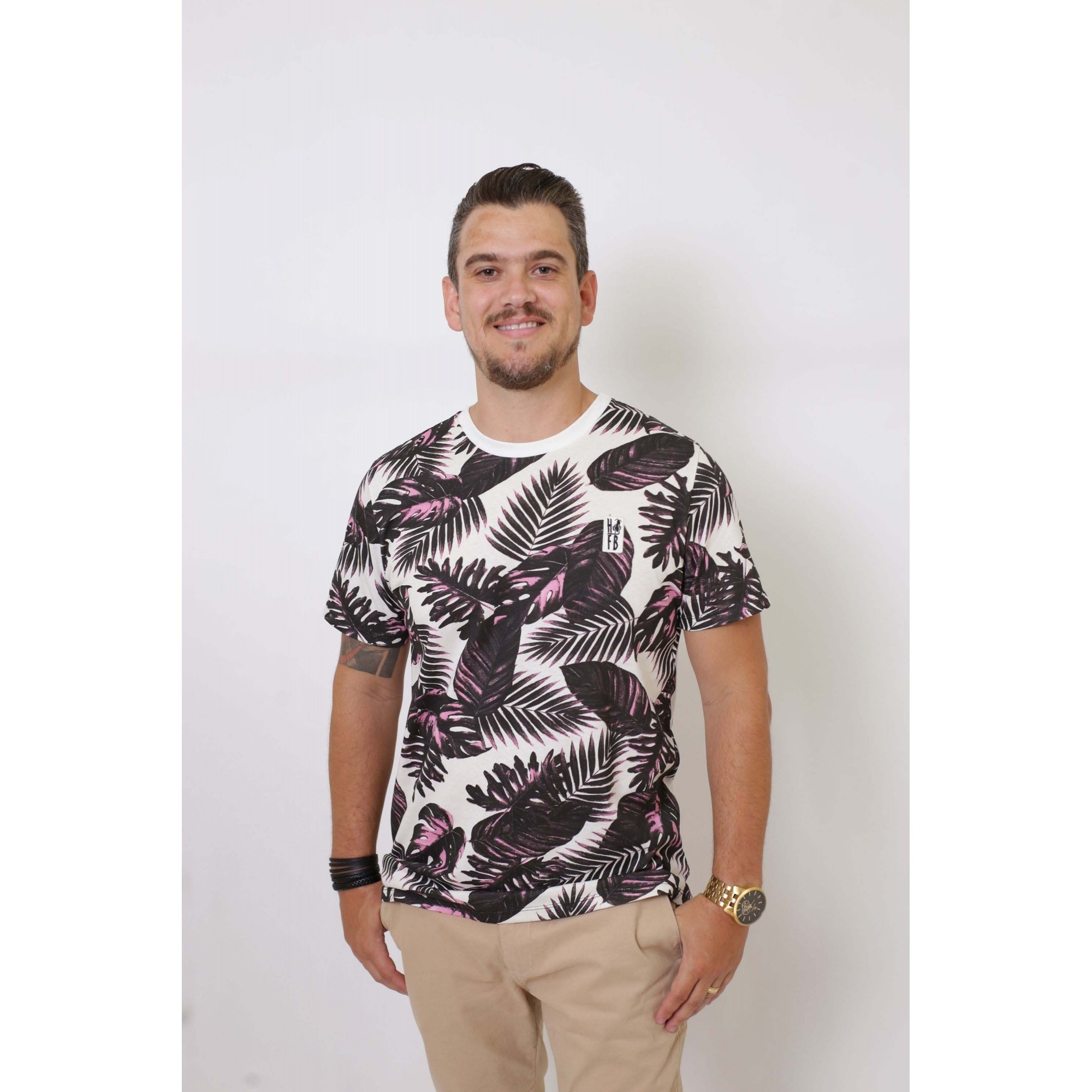 PAI E FILHA > 02 T-Shirts - Cancún  [Coleção Tal Pai Tal Filha]  - Heitor Fashion Brazil