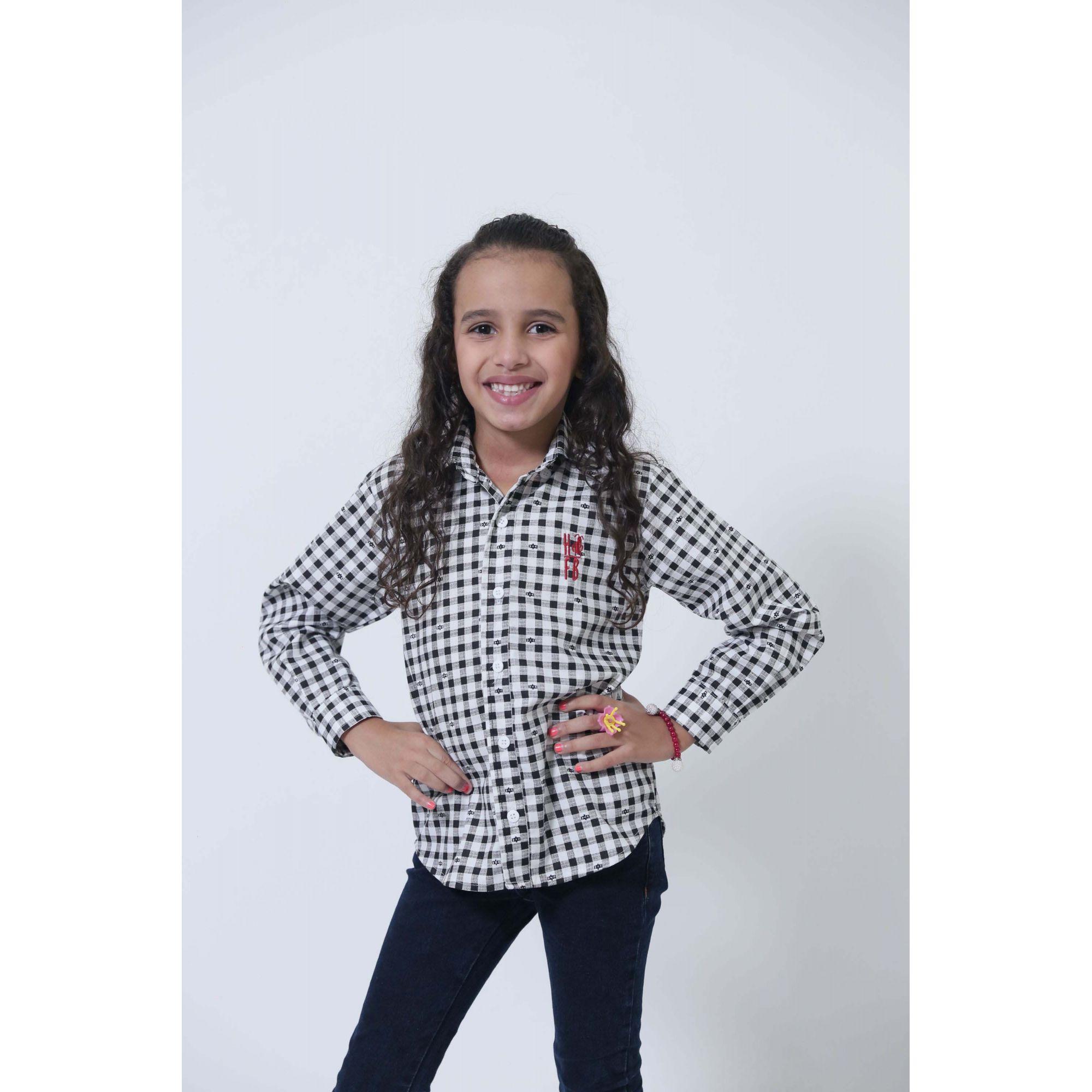 PAI E FILHA > Camisas Social Xadrez Dama [Coleção Tal Pai Tal Filha]  - Heitor Fashion Brazil