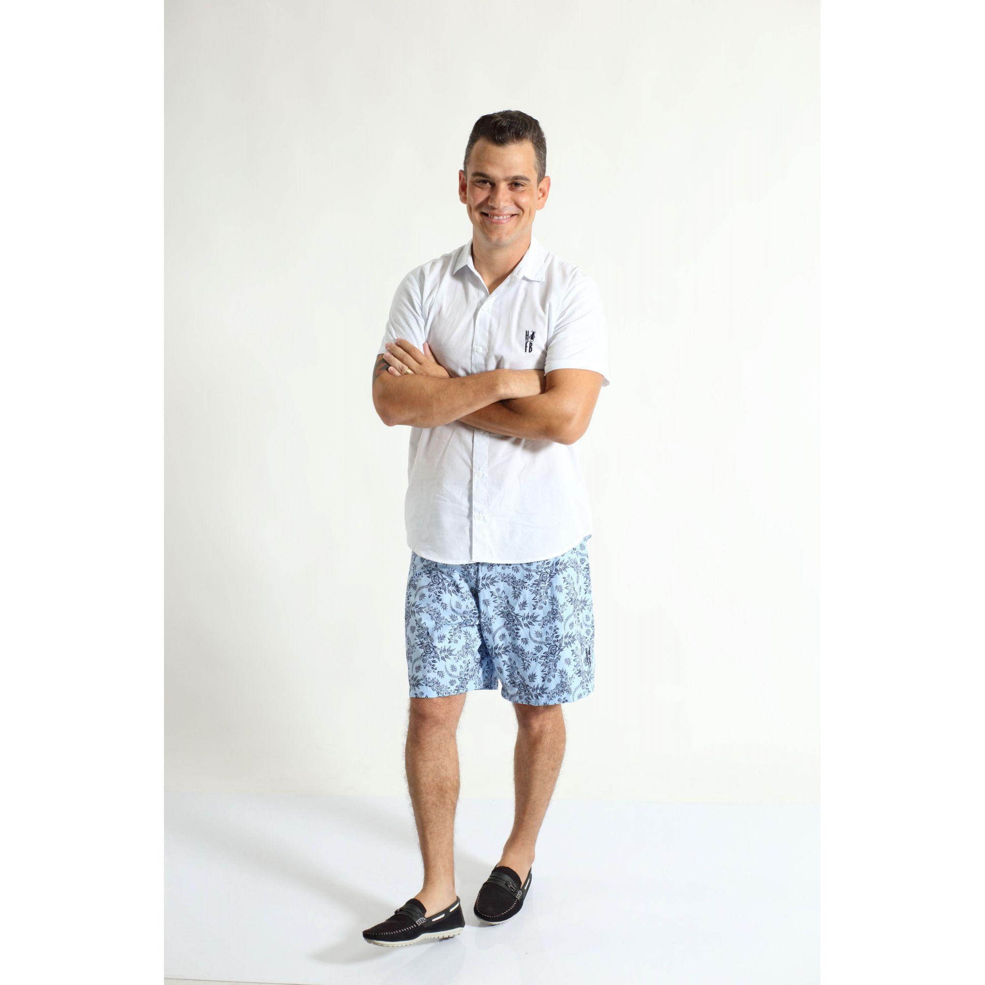 PAI E FILHA > Kit 02 Camisas Manga Curta Branca  [Coleção Tal Pai Tal Filha]  - Heitor Fashion Brazil