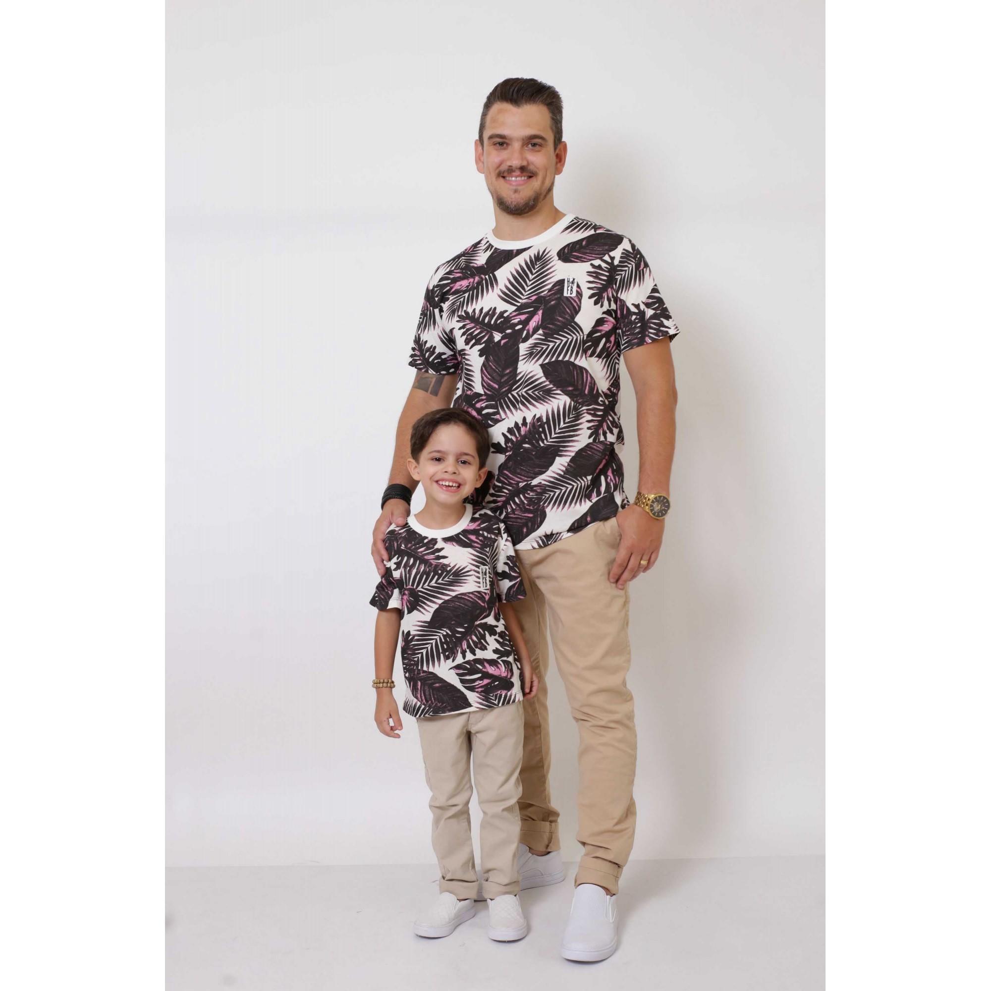PAI E FILHO > 02 T-Shirts - Cancún [Coleção Tal Pai Tal Filho]