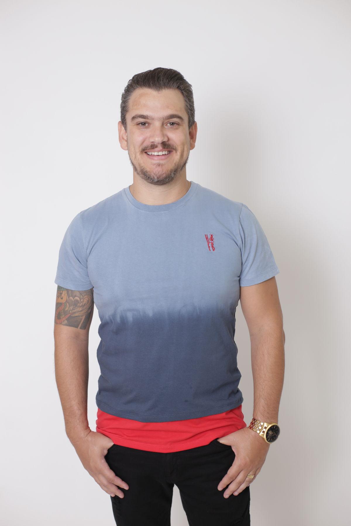 PAI E FILHO > 02 T-Shirts - Degradê [Coleção Tal Pai Tal Filho]  - Heitor Fashion Brazil