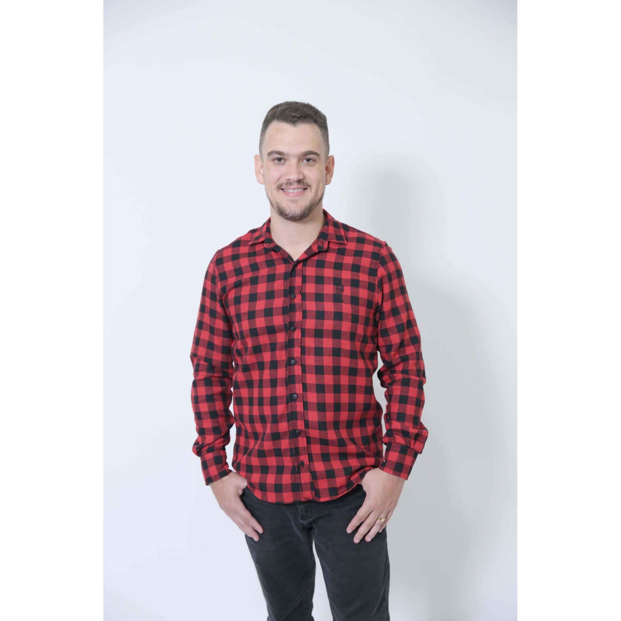 PAI E FILHO > Camisas Social Xadrez Lenhador [Coleção Tal Pai Tal Filho]  - Heitor Fashion Brazil