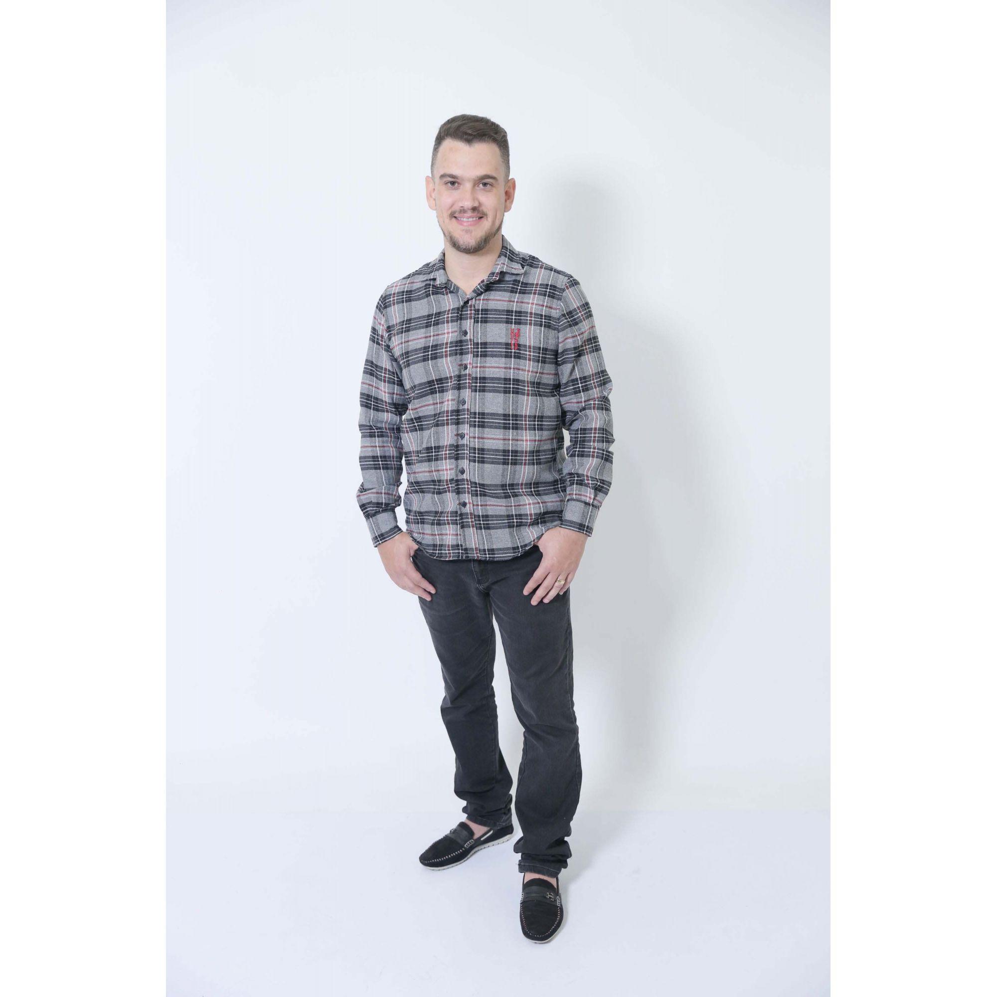 PAI E FILHO > Camisas Social Xadrez Urso [Coleção Tal Pai Tal Filho]  - Heitor Fashion Brazil