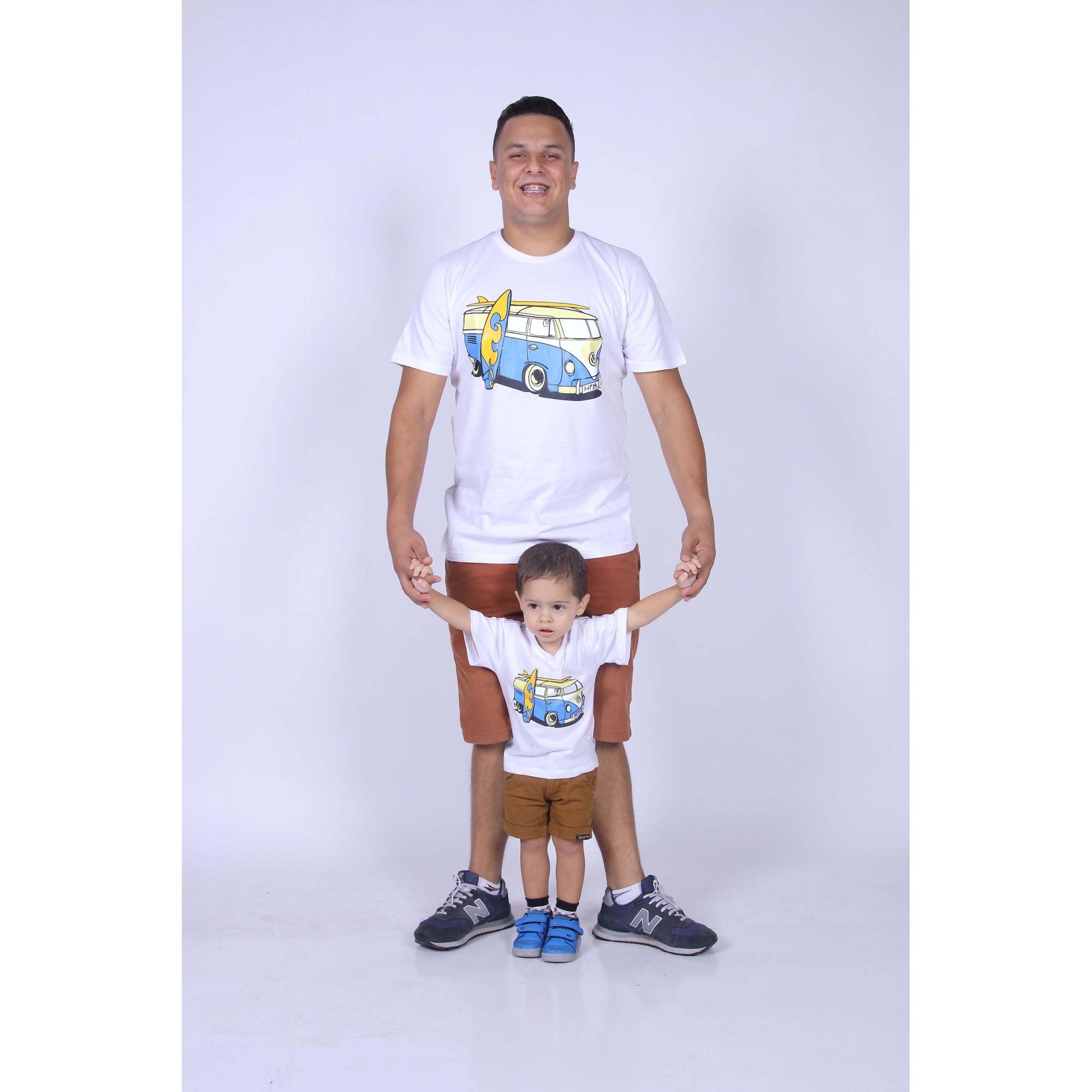 PAI E FILHO > Kit 02 Camisetas Kombi [Coleção Tal Pai Tal Filho]