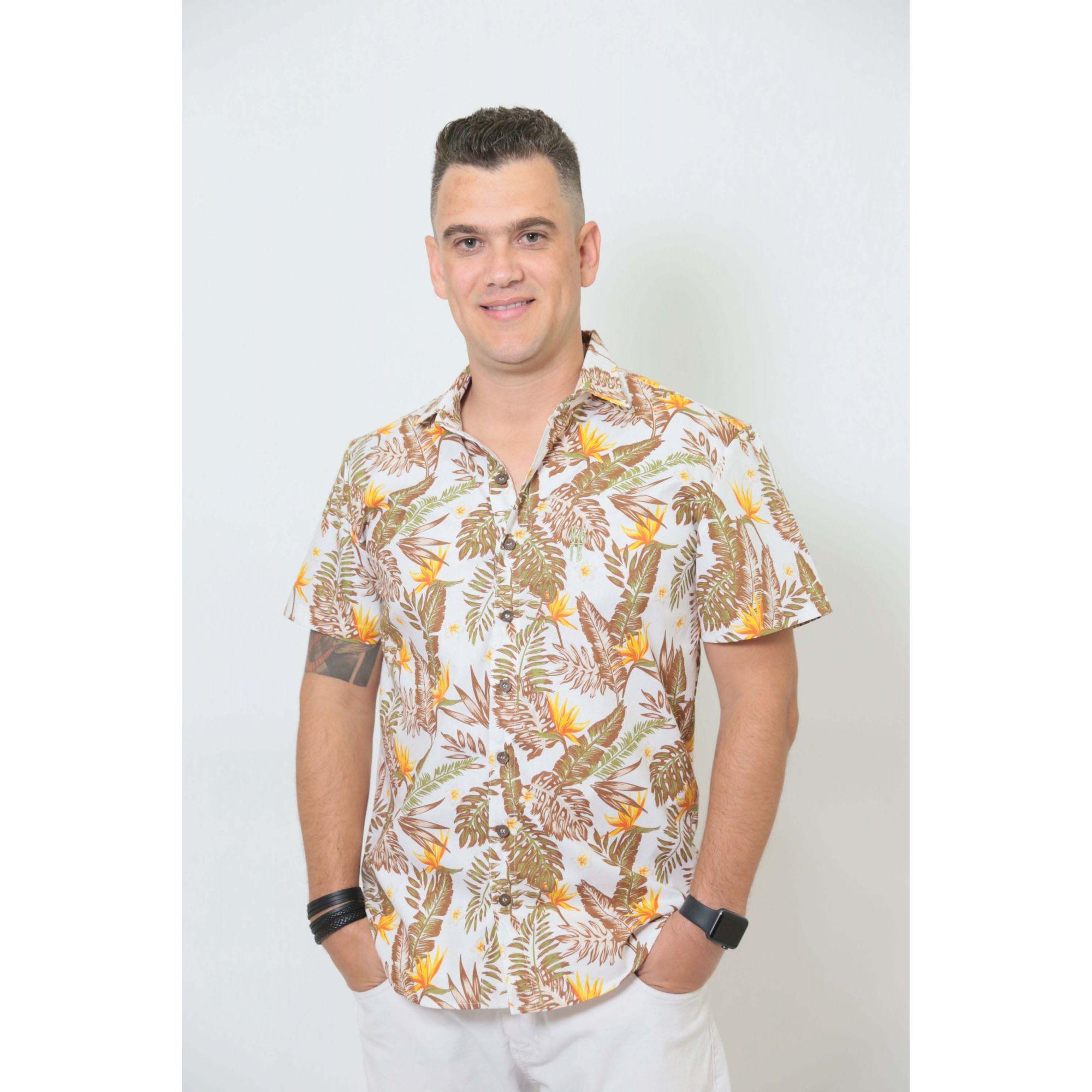 PAIS E FILHAS > Kit 3 peças Camisas Social Amazonas [Coleção Família]  - Heitor Fashion Brazil