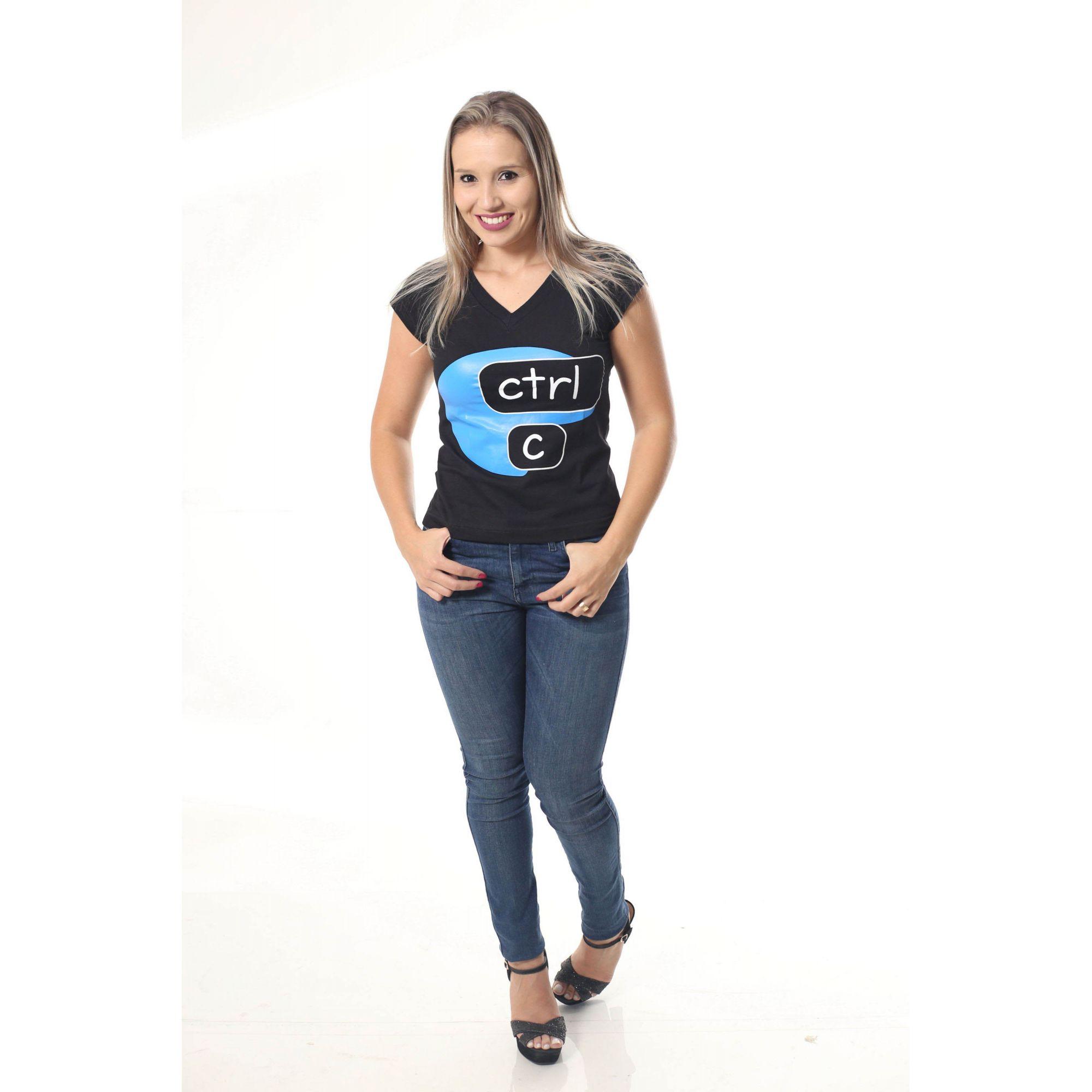 PAIS E FILHOS > Kit 3 Camisetas Pretas CTRL-C & CTRL-V [Coleção Família]  - Heitor Fashion Brazil
