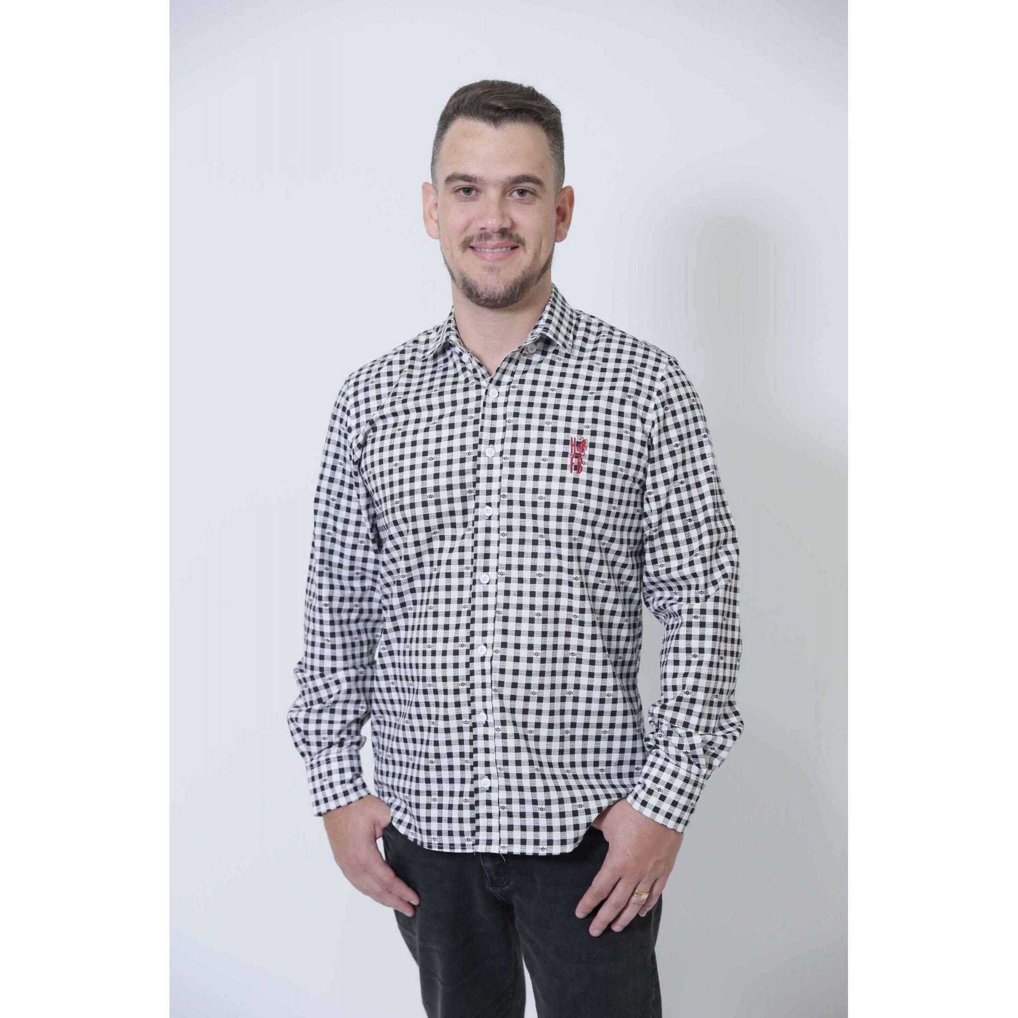 PAIS E FILHOS > Kit 3 peças Camisas Social Xadrez Dama [Coleção Família]  - Heitor Fashion Brazil