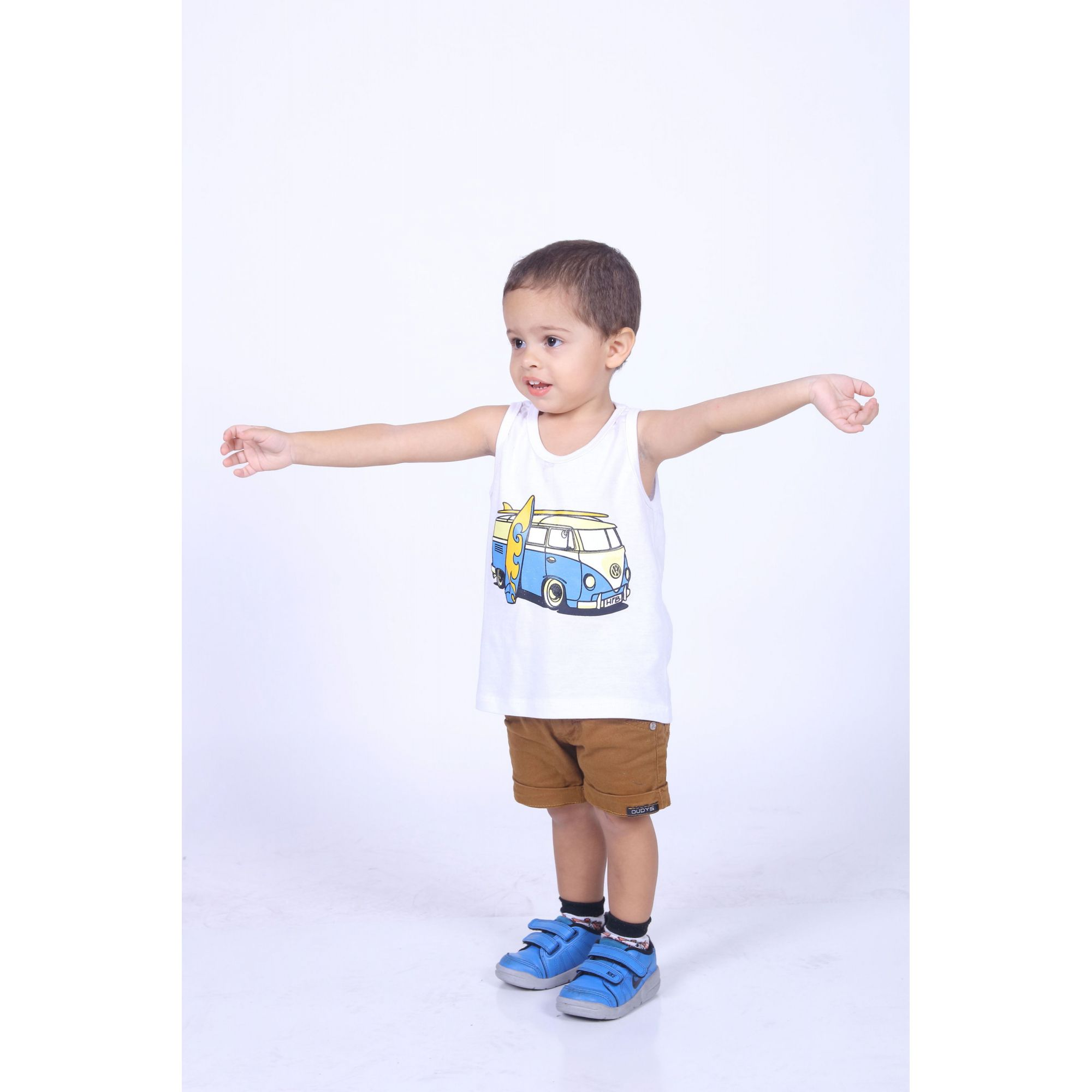 Regata Infantil Kombi  - Heitor Fashion Brazil