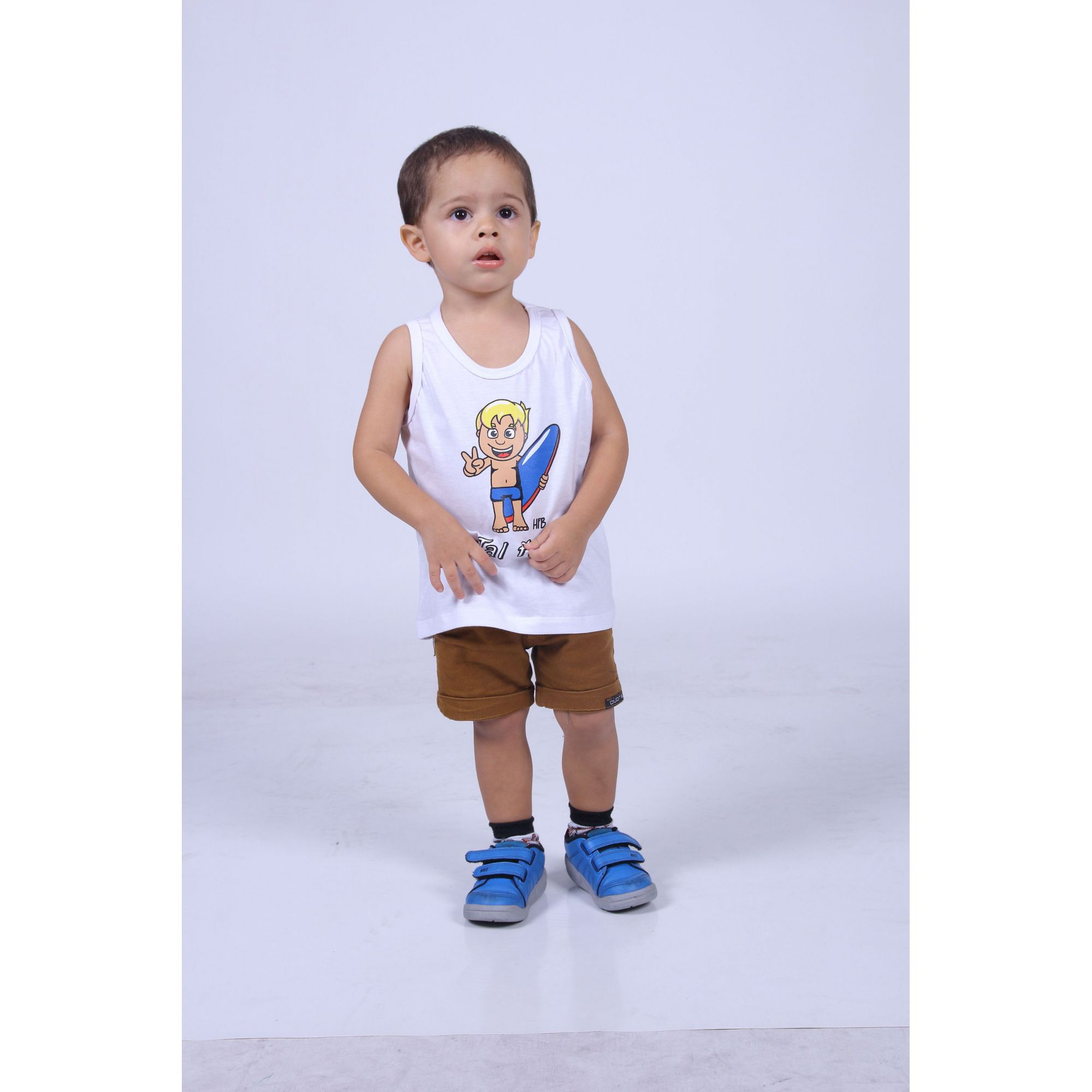 Regata Infantil Surfista Filho  - Heitor Fashion Brazil