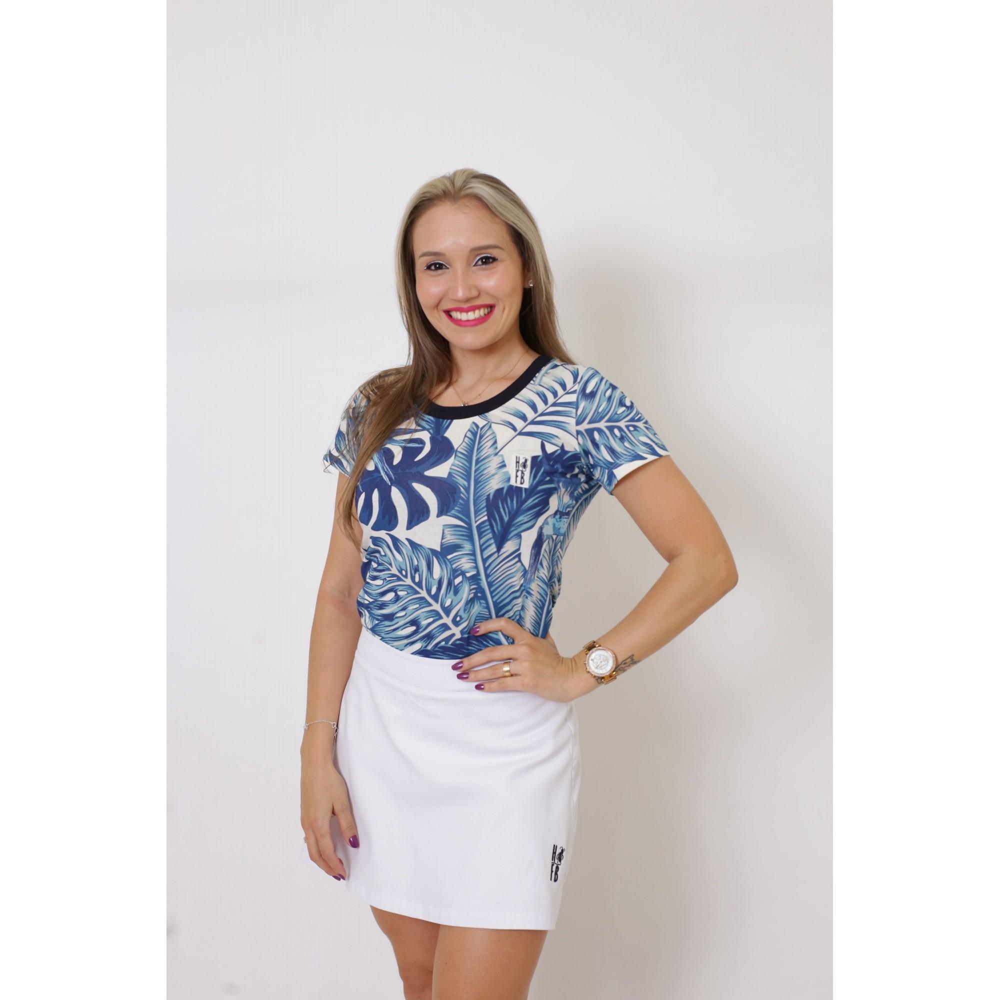 T-Shirt Caribe Feminina  - Heitor Fashion Brazil