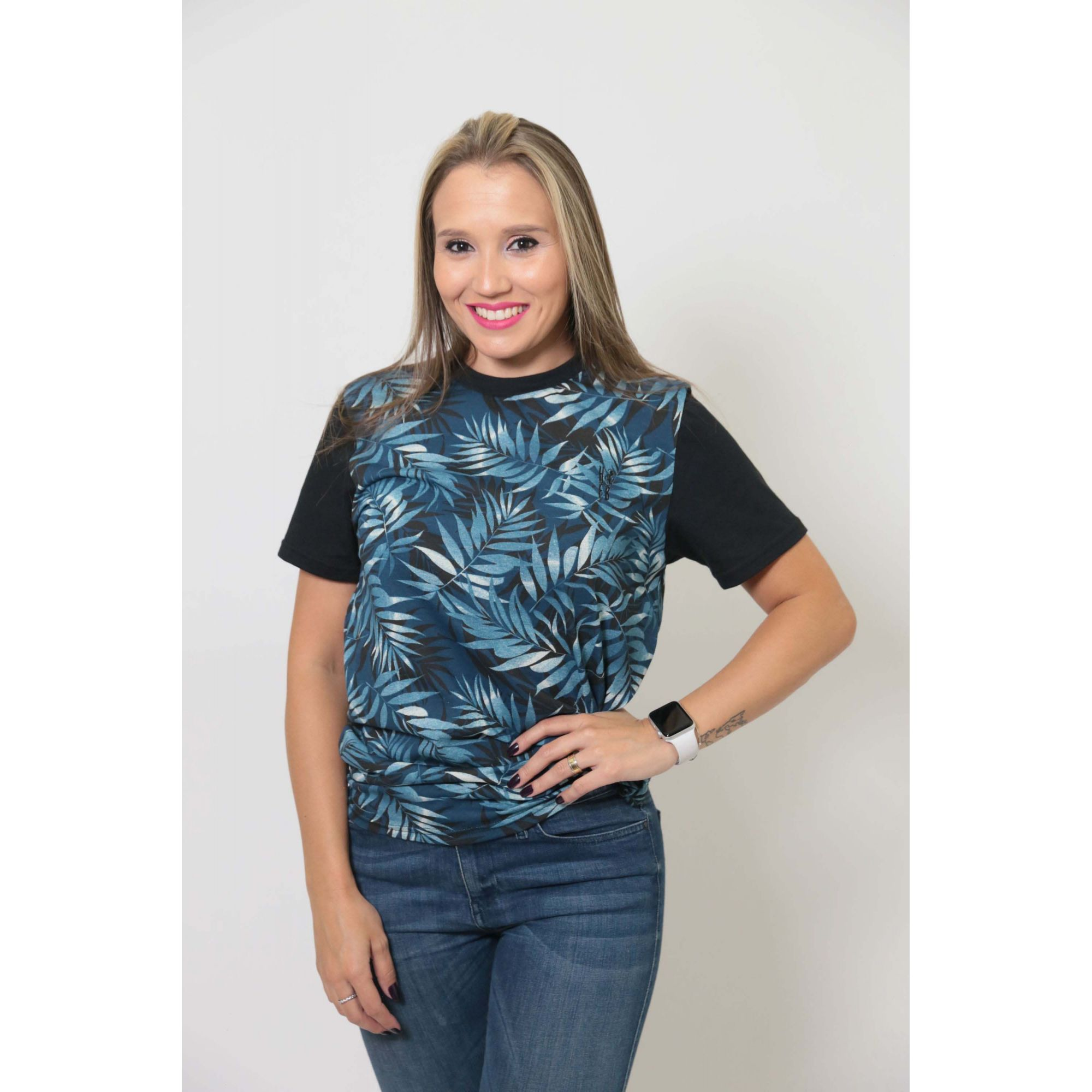 T-Shirt - Tropical - Unissex   - Heitor Fashion Brazil
