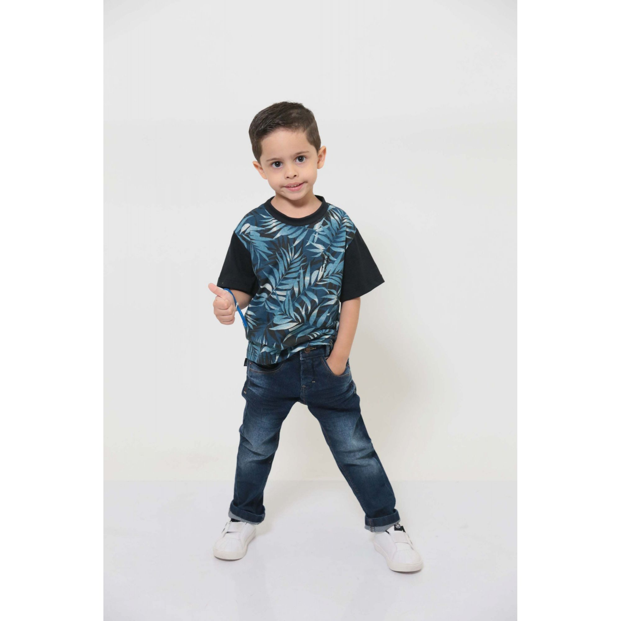 T-Shirt  ou Body - Tropical - Infantil - Unissex