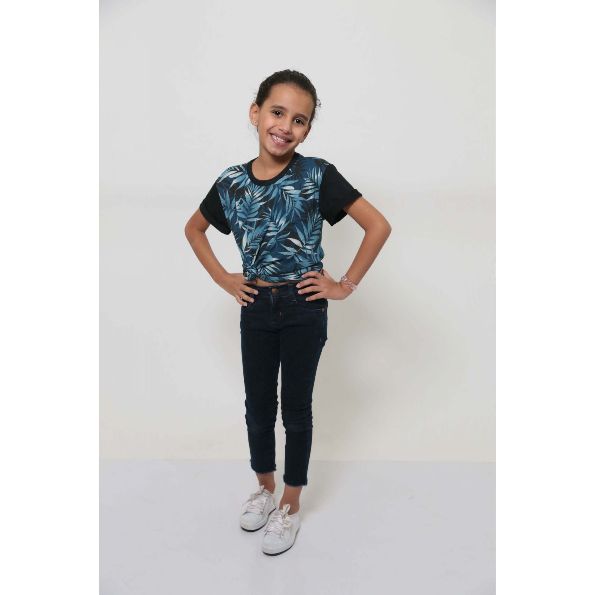 T-Shirt  ou Body - Tropical - Infantil - Unissex   - Heitor Fashion Brazil