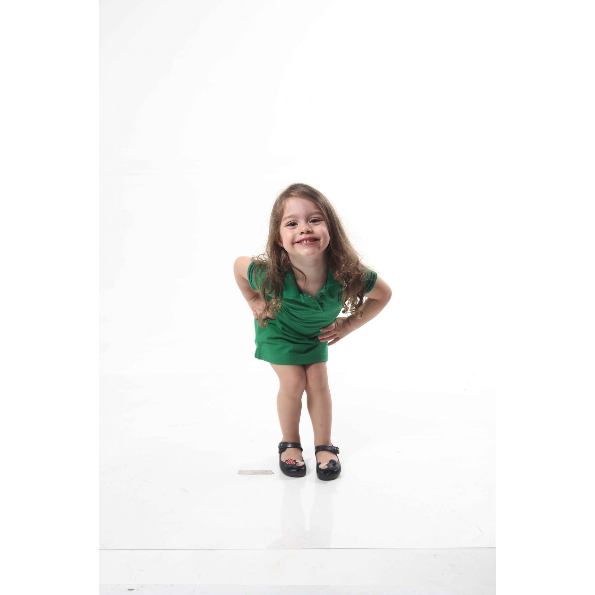 Vestido Polo Verde Esperança Infantil