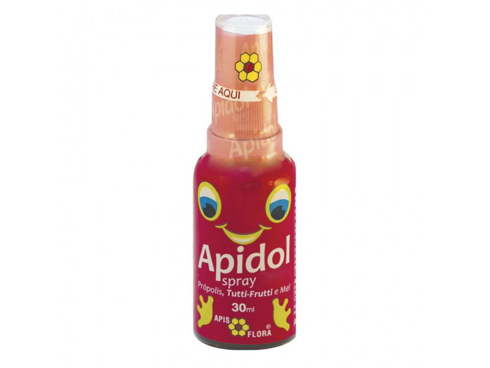 APIDOL  Kids Spray Própolis Mel Tutti-frutti  30ml