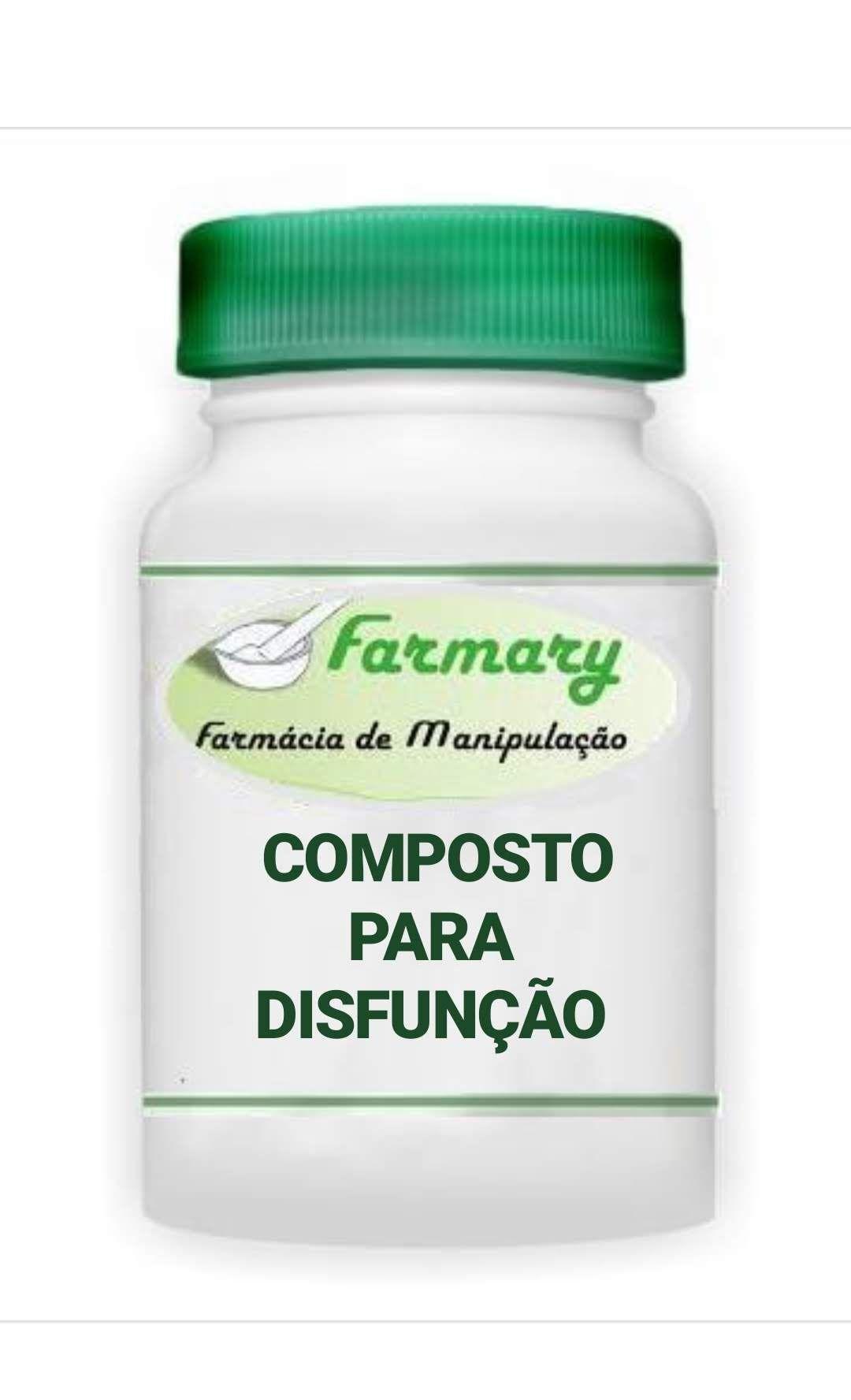 COMPOSTO PARA DISFUNÇÃO ERETIL