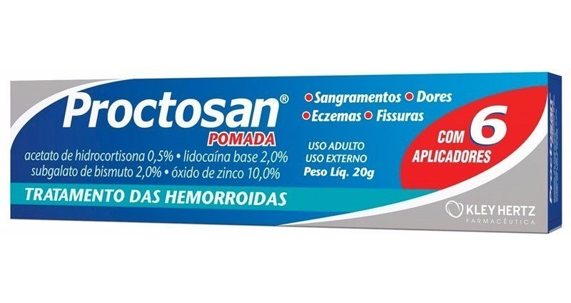 Pomada Para Tratamento De Hemorróidas Proctosan 20g