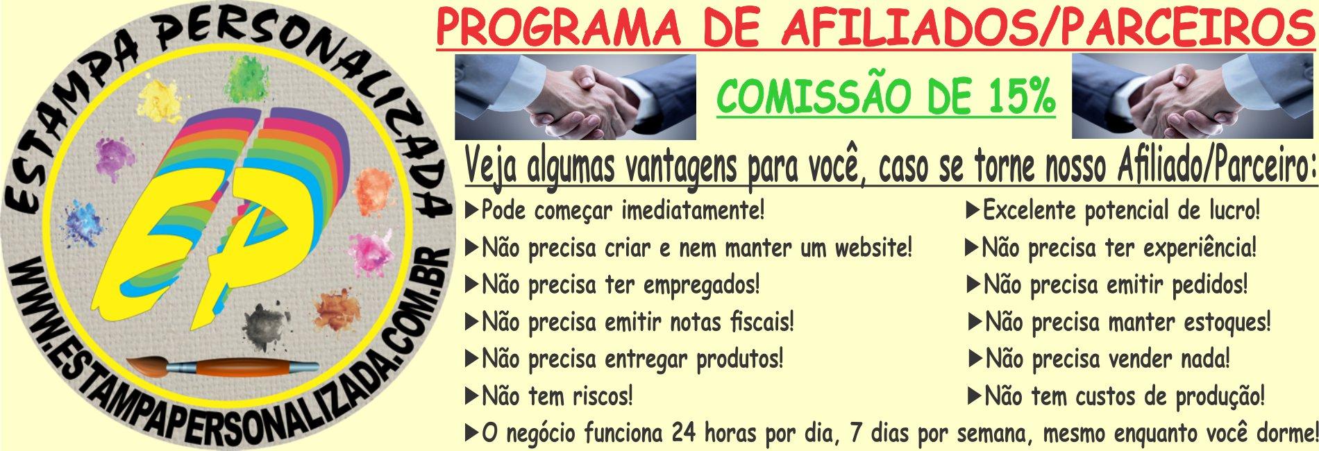 PROGRAMA DE AFILIADOS/PARCEIROS