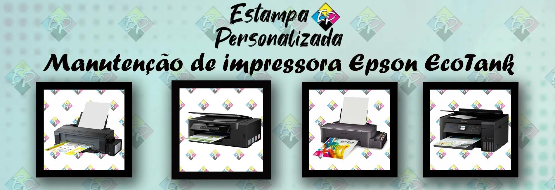 Manutenção de impressora Epson EcoTank