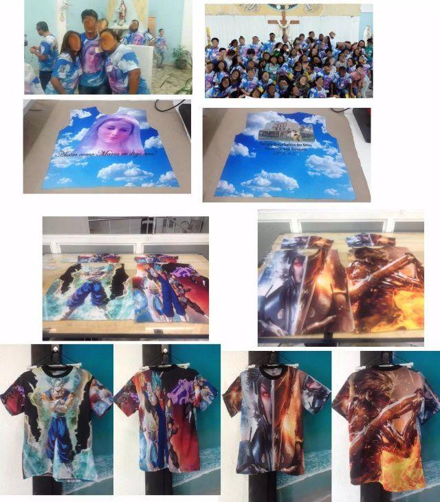 Camisa Estampa Total - Sublimação Total